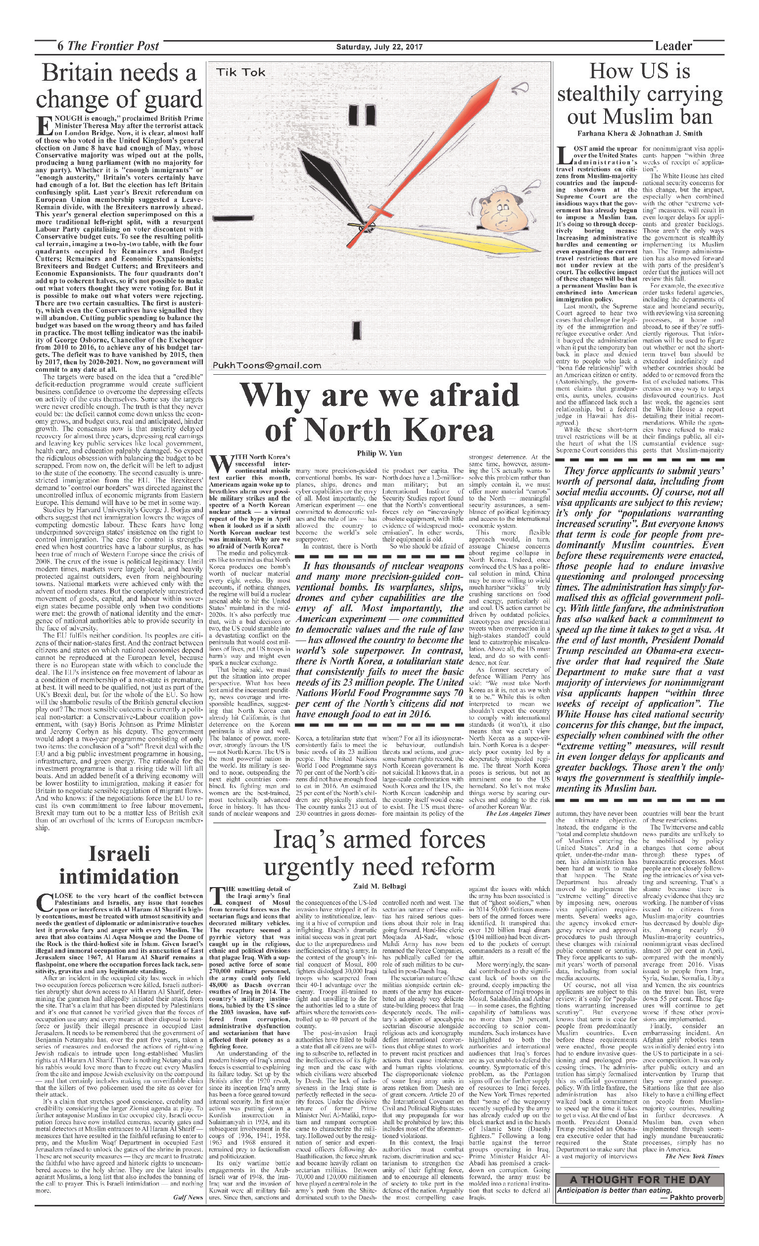 Editorial Page