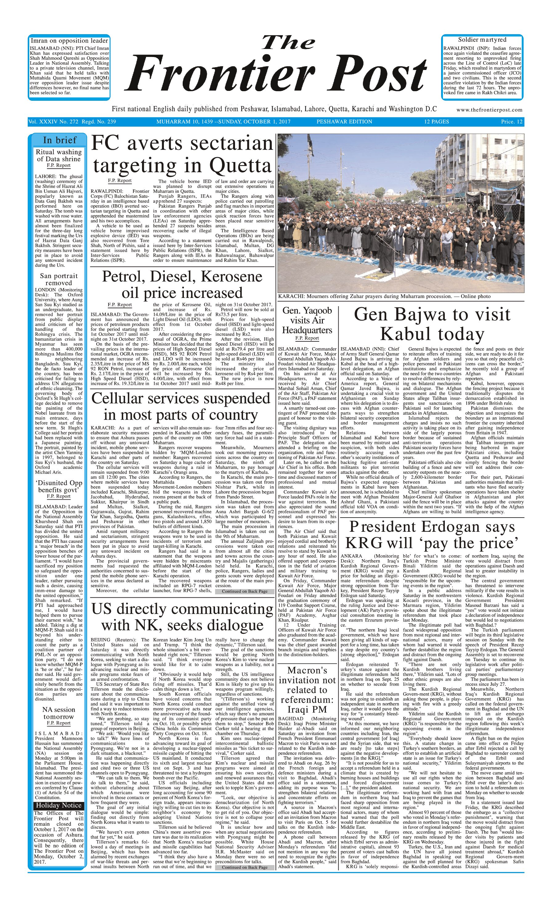 Front Page 1-10