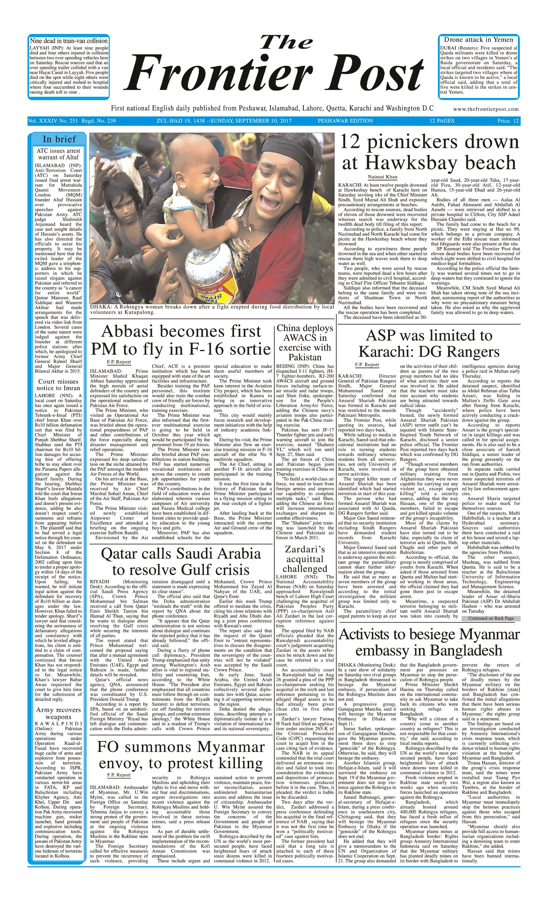 Front Page 10-09