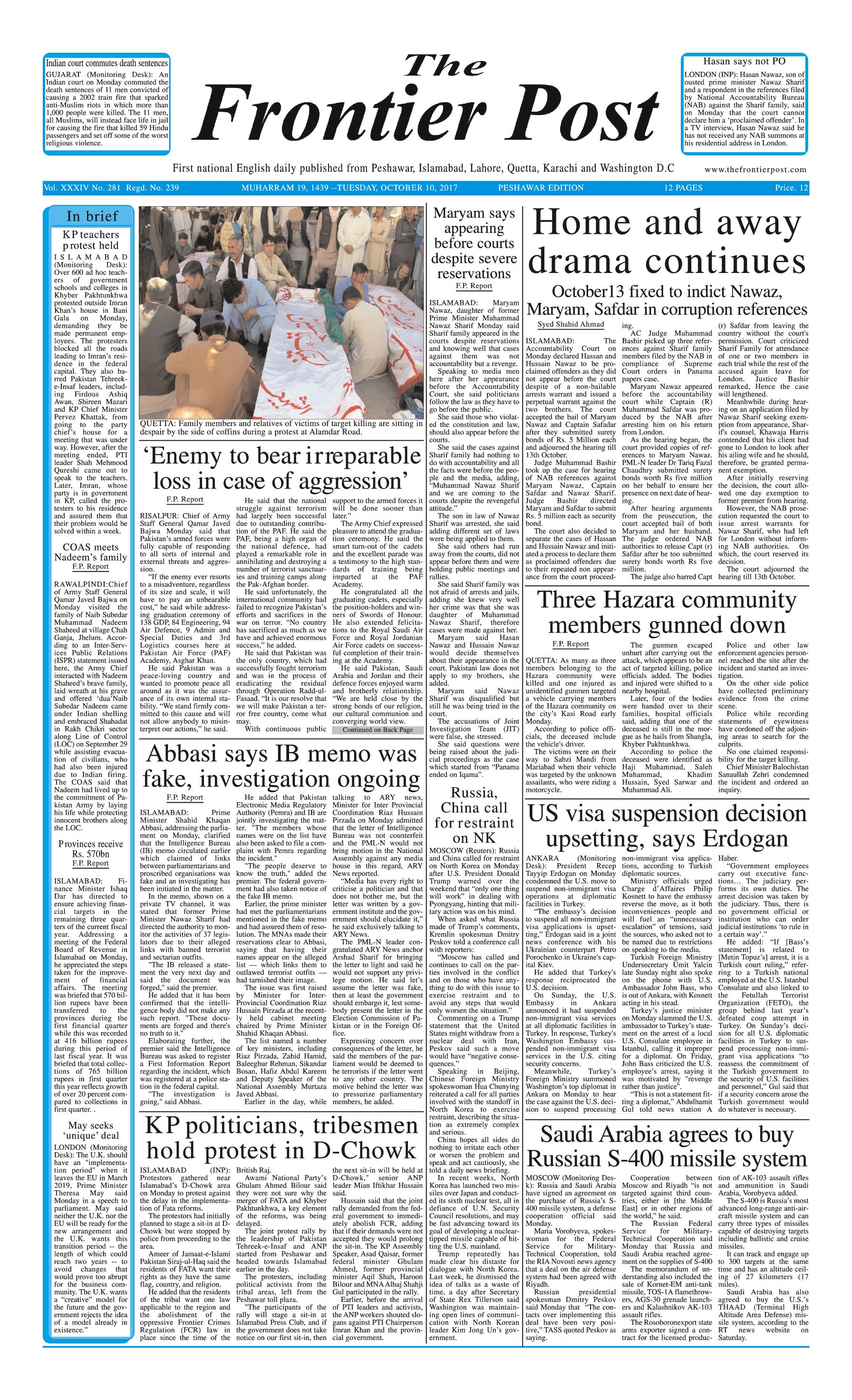 Front Page 10-10