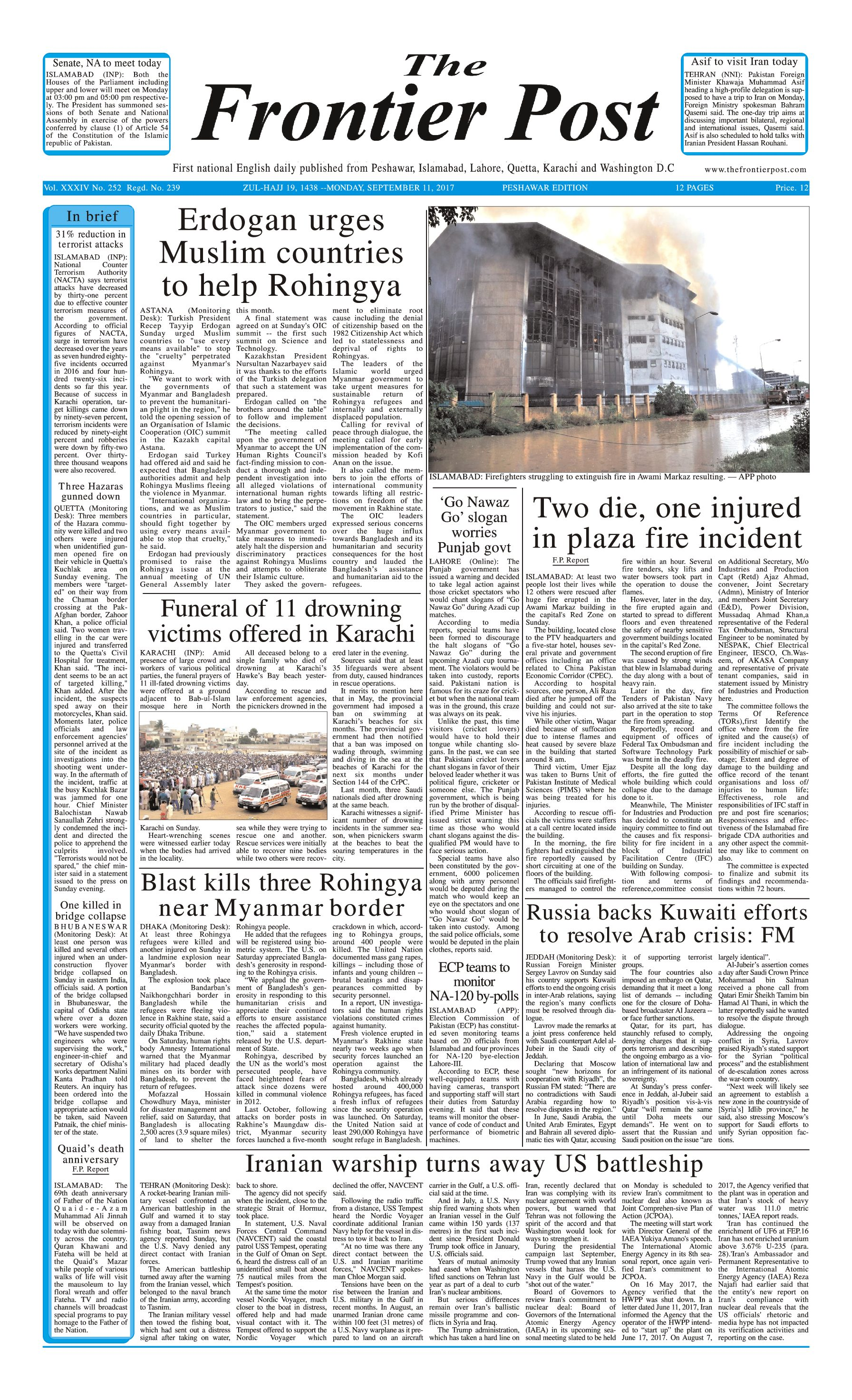 Front Page 11-09