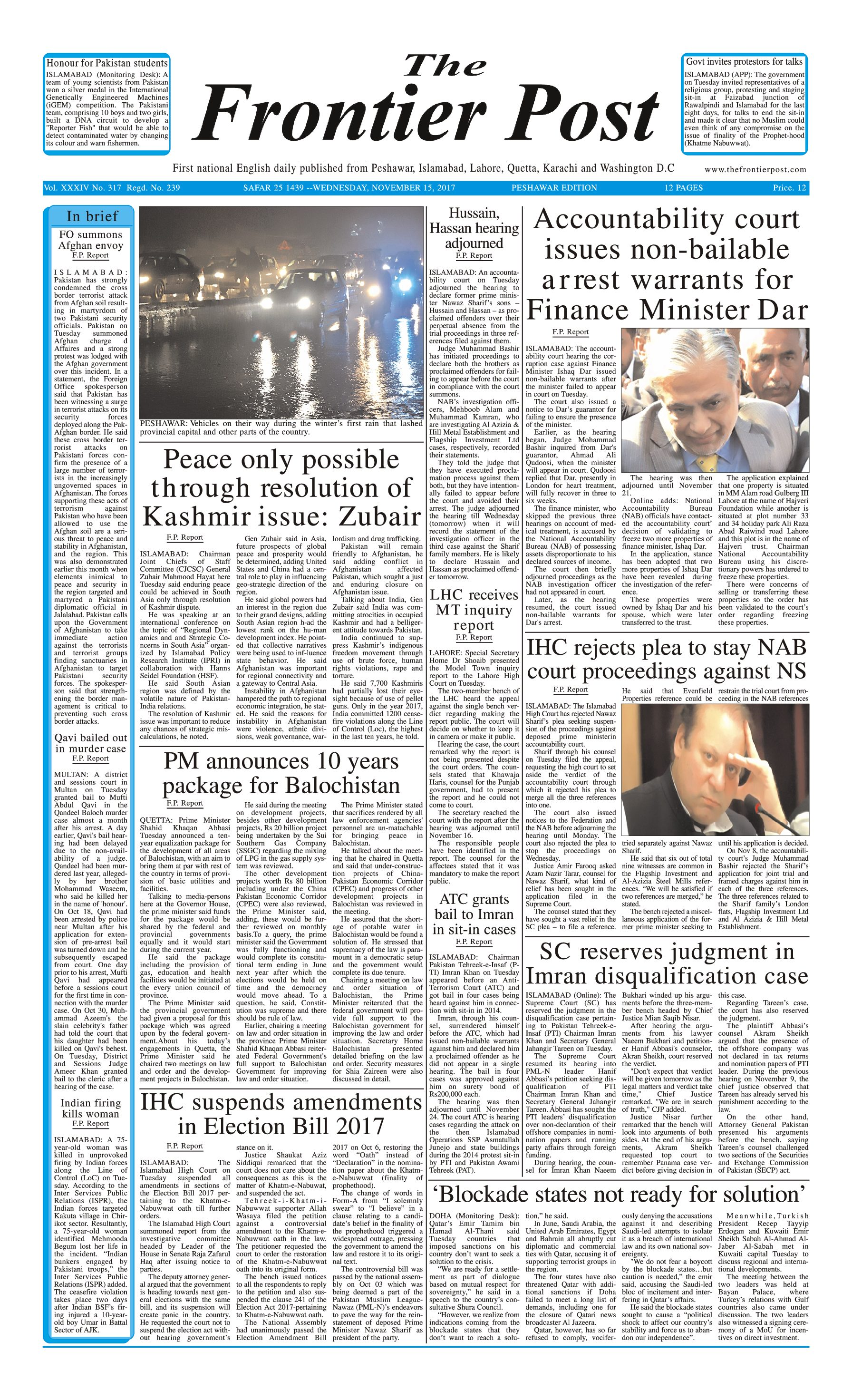 Front Page 15-11