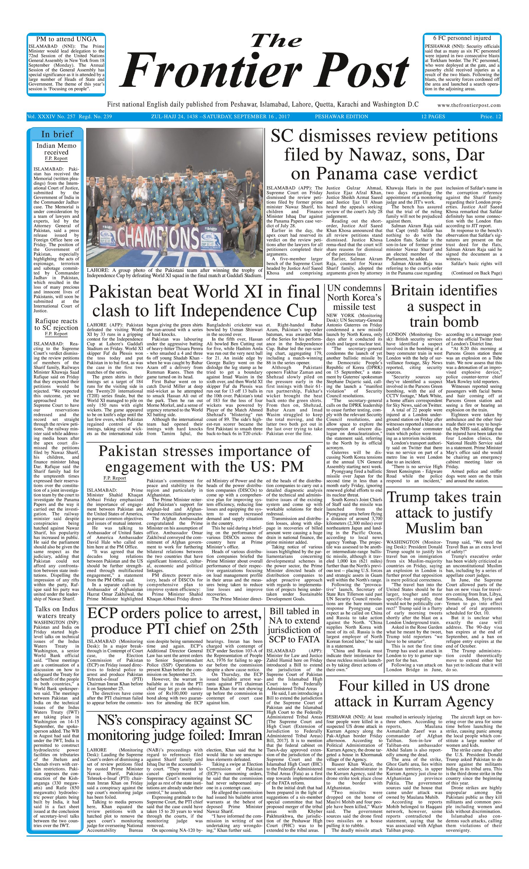 Front Page 16-09