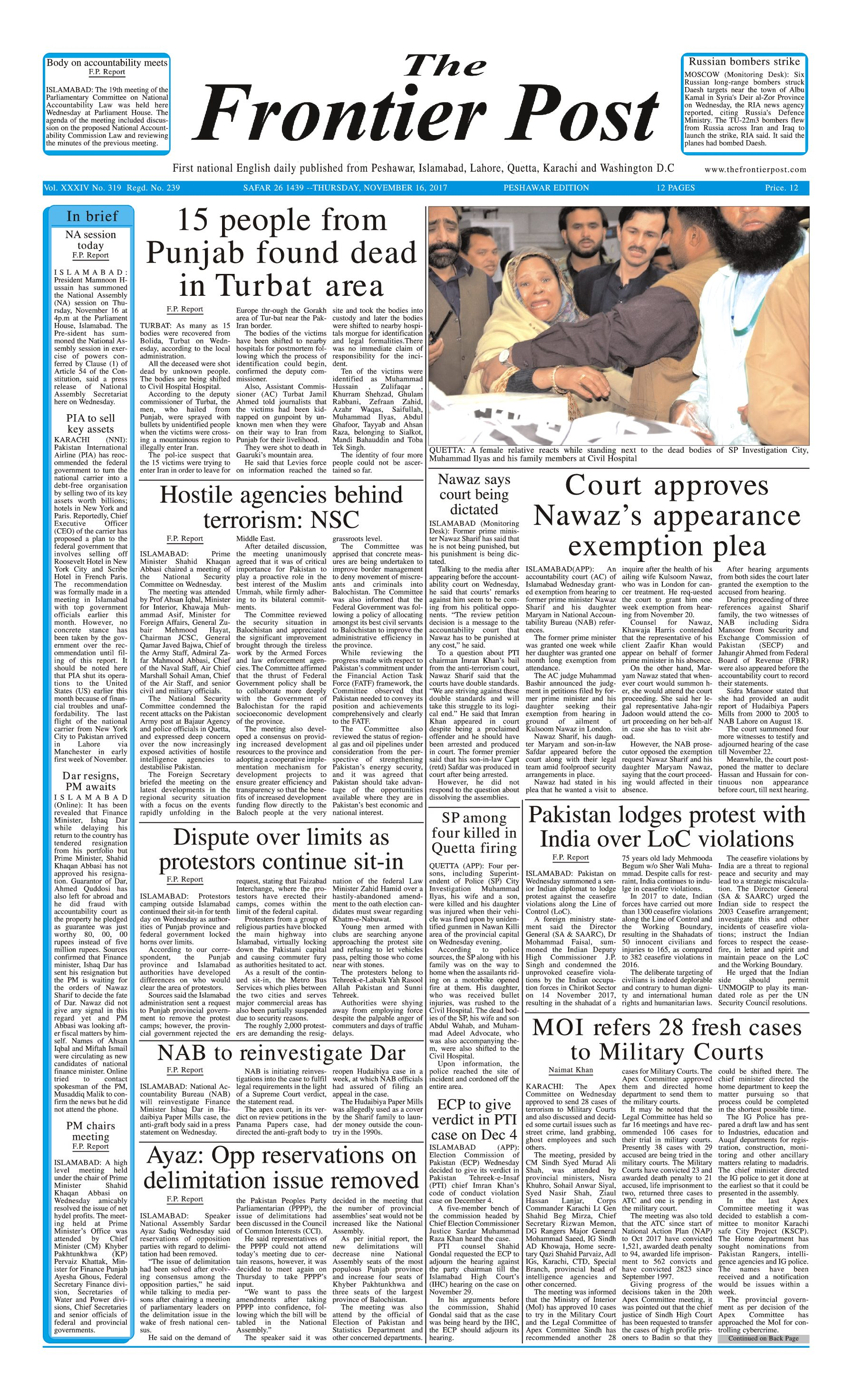 Front Page 16-11