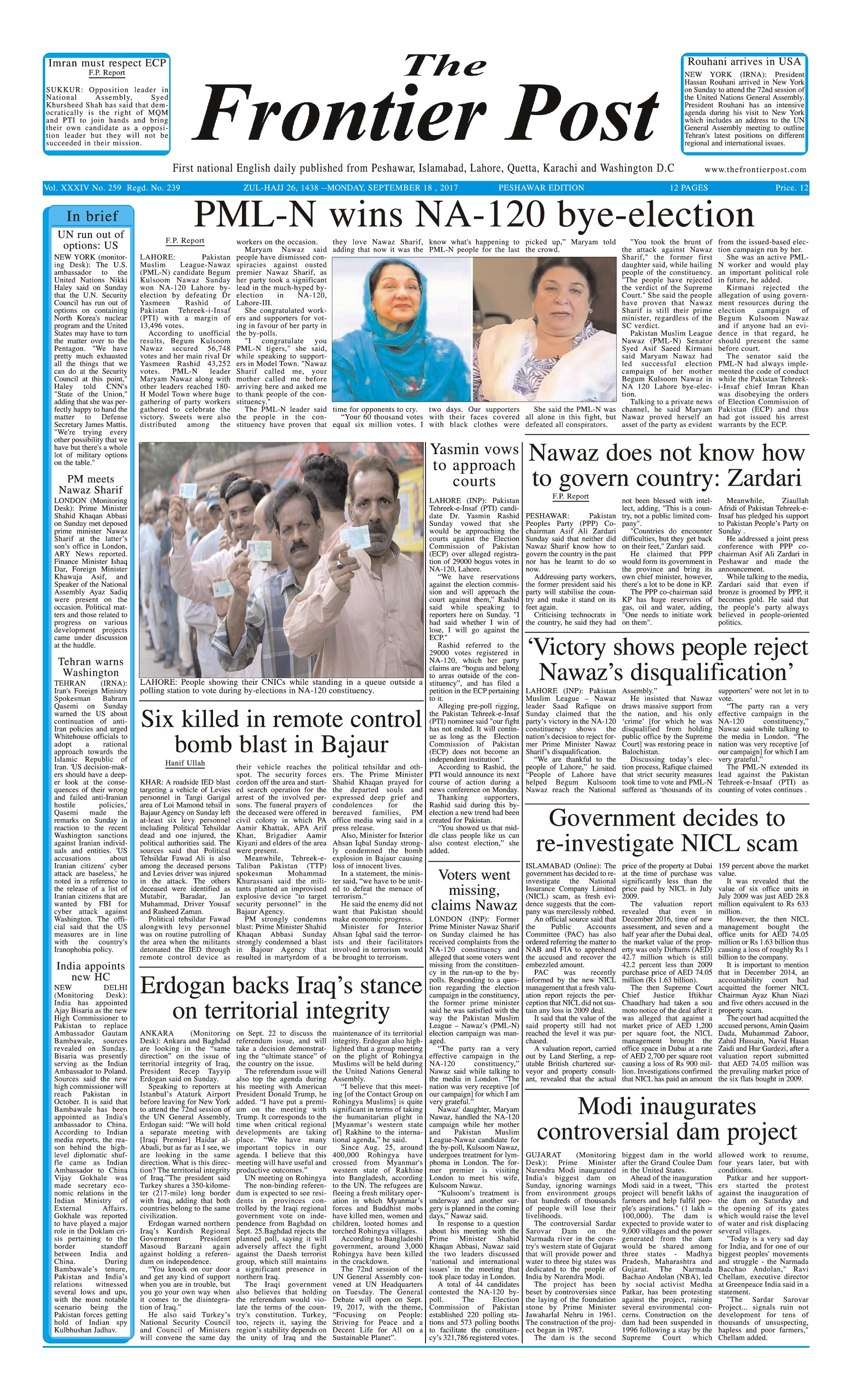 Front Page 18-09