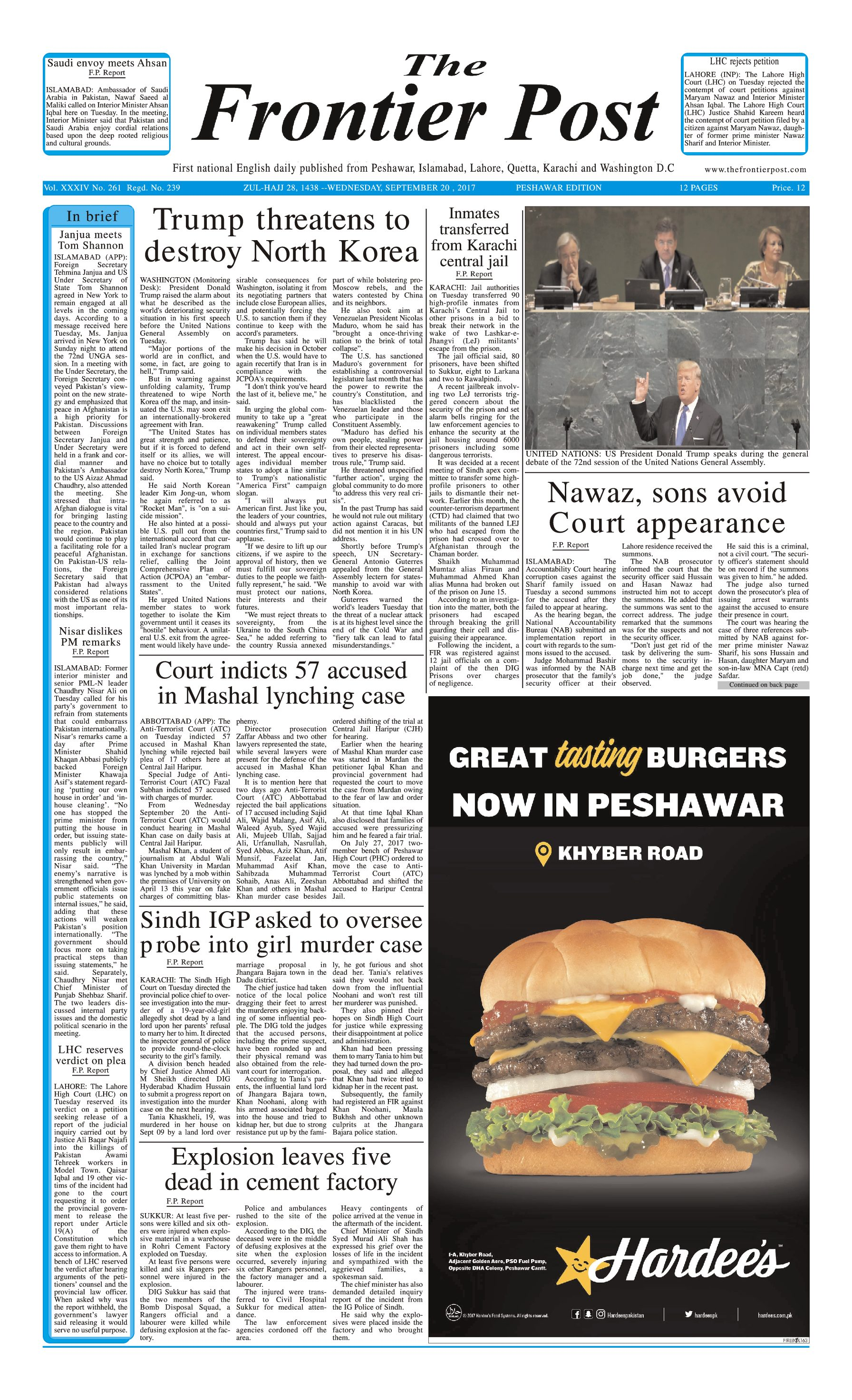 Front Page 20-09