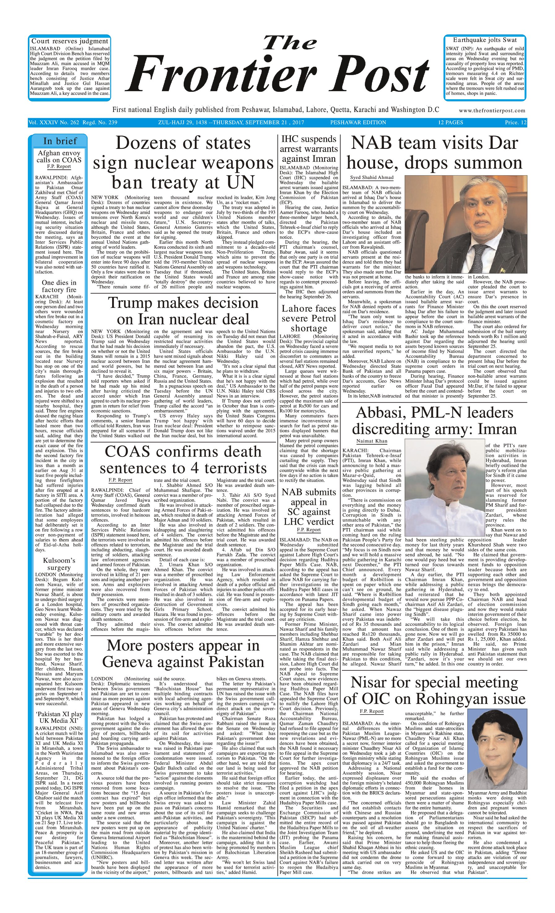 Front Page 21-09