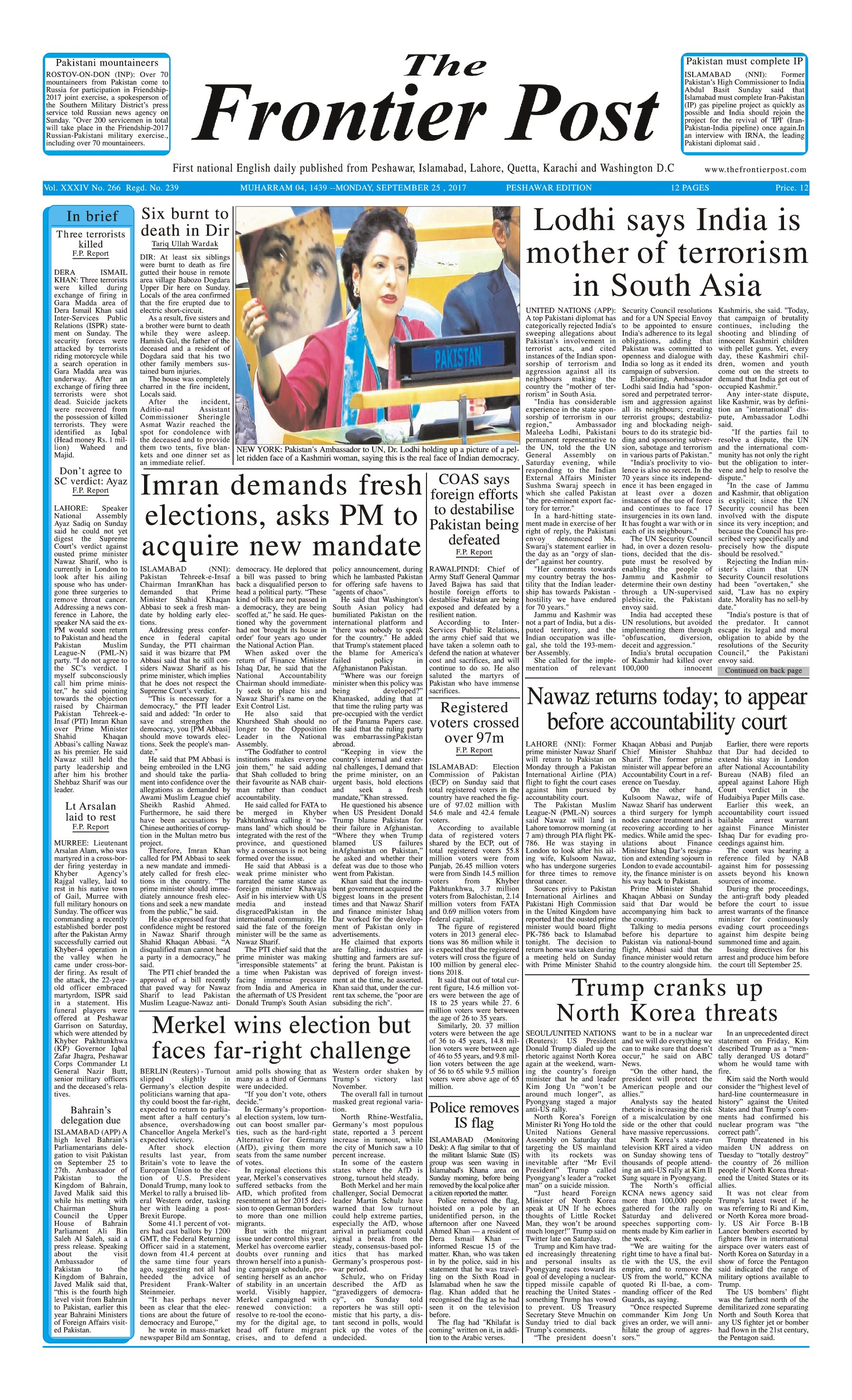 Front Page 25-09