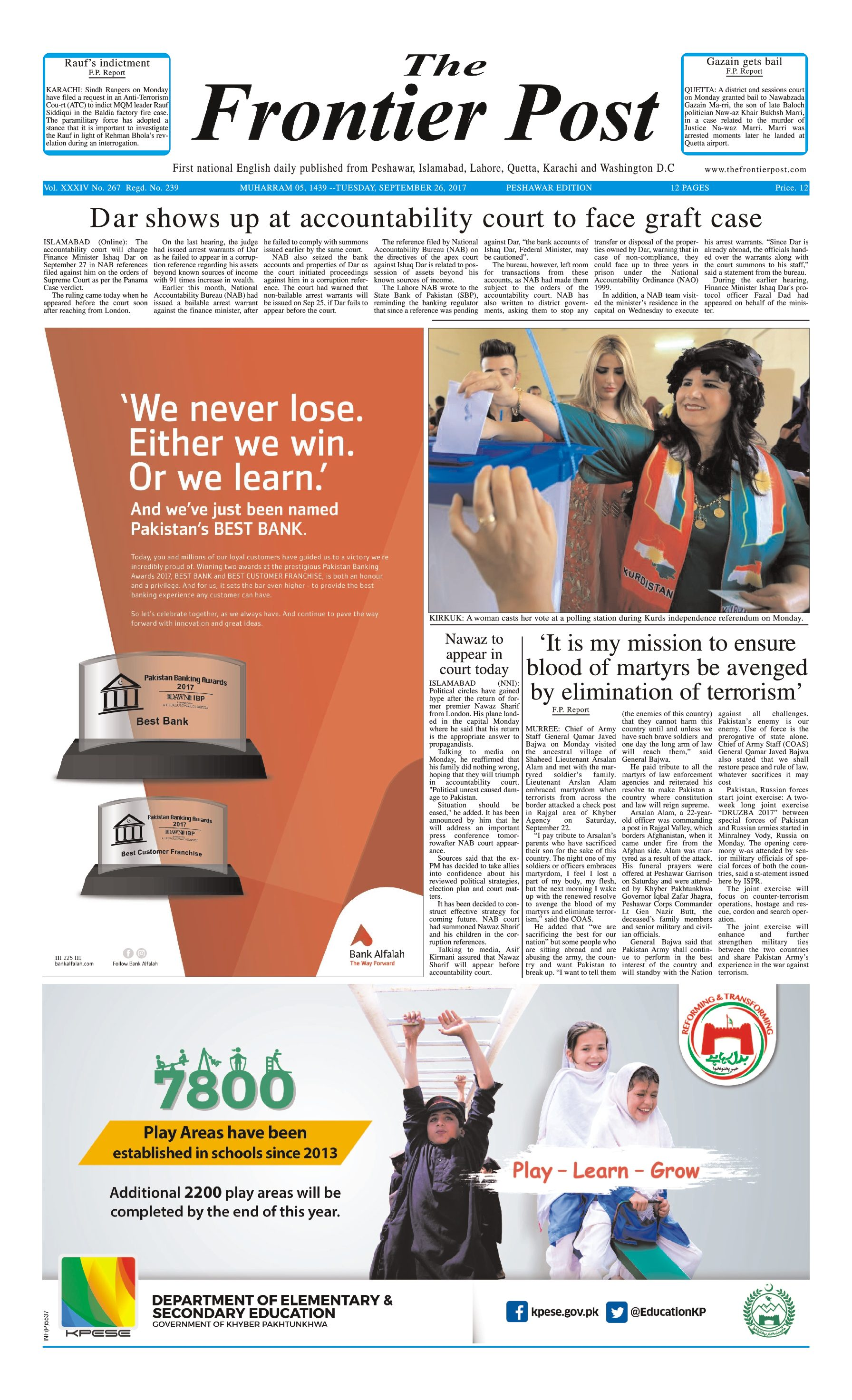 Front Page 26-09