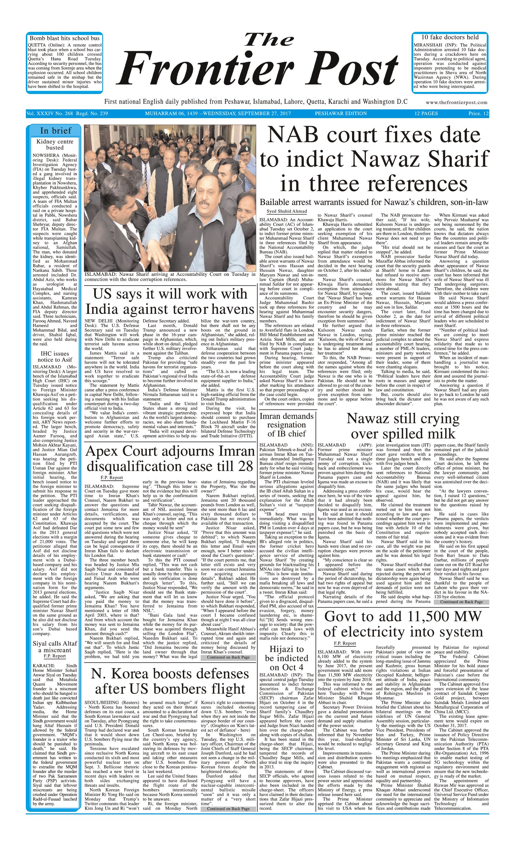 Front Page 27-09