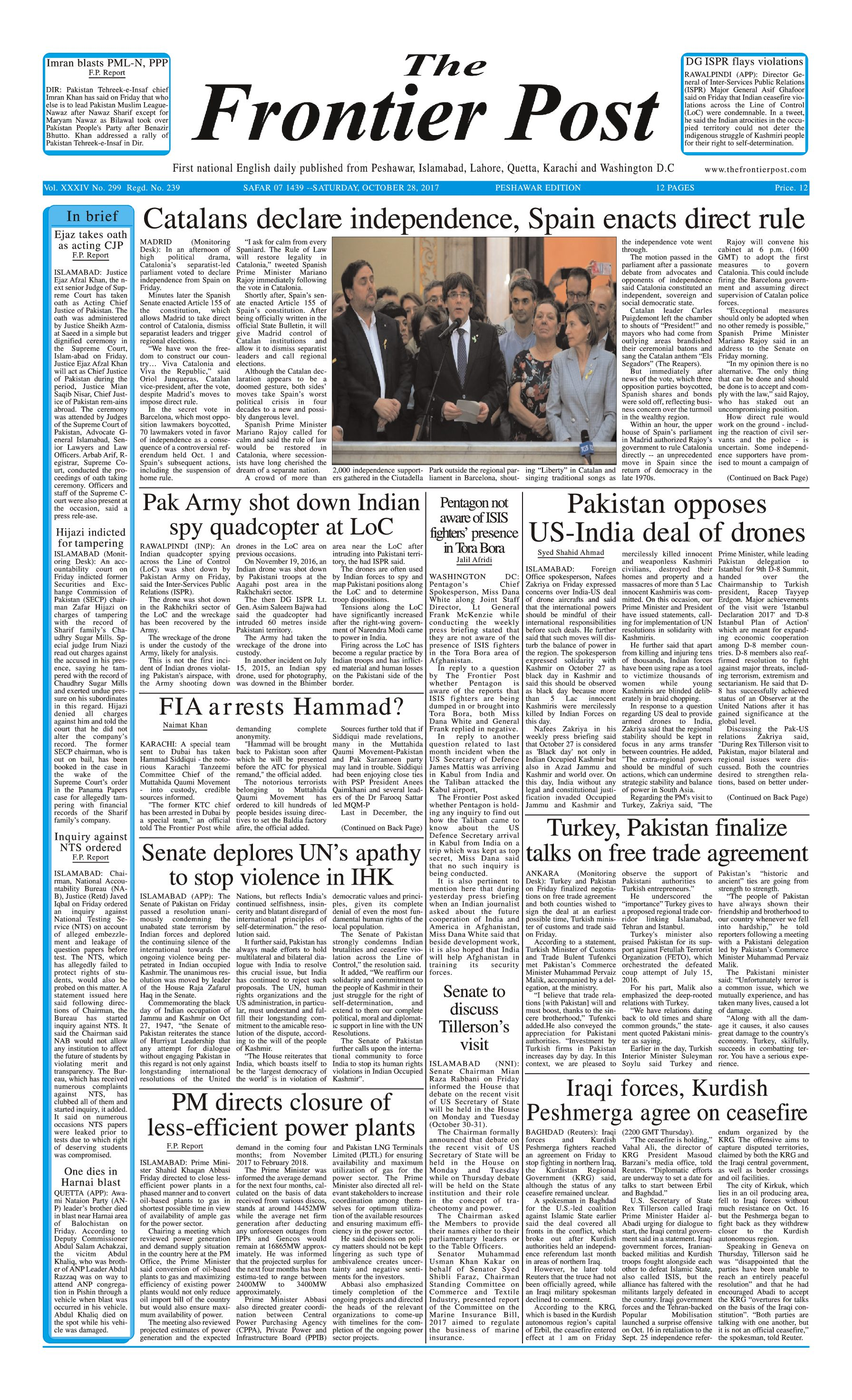 Front Page 28--10