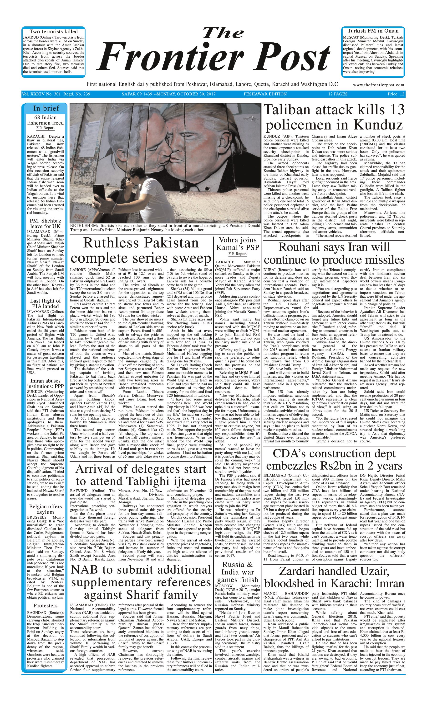 Front Page 30-10