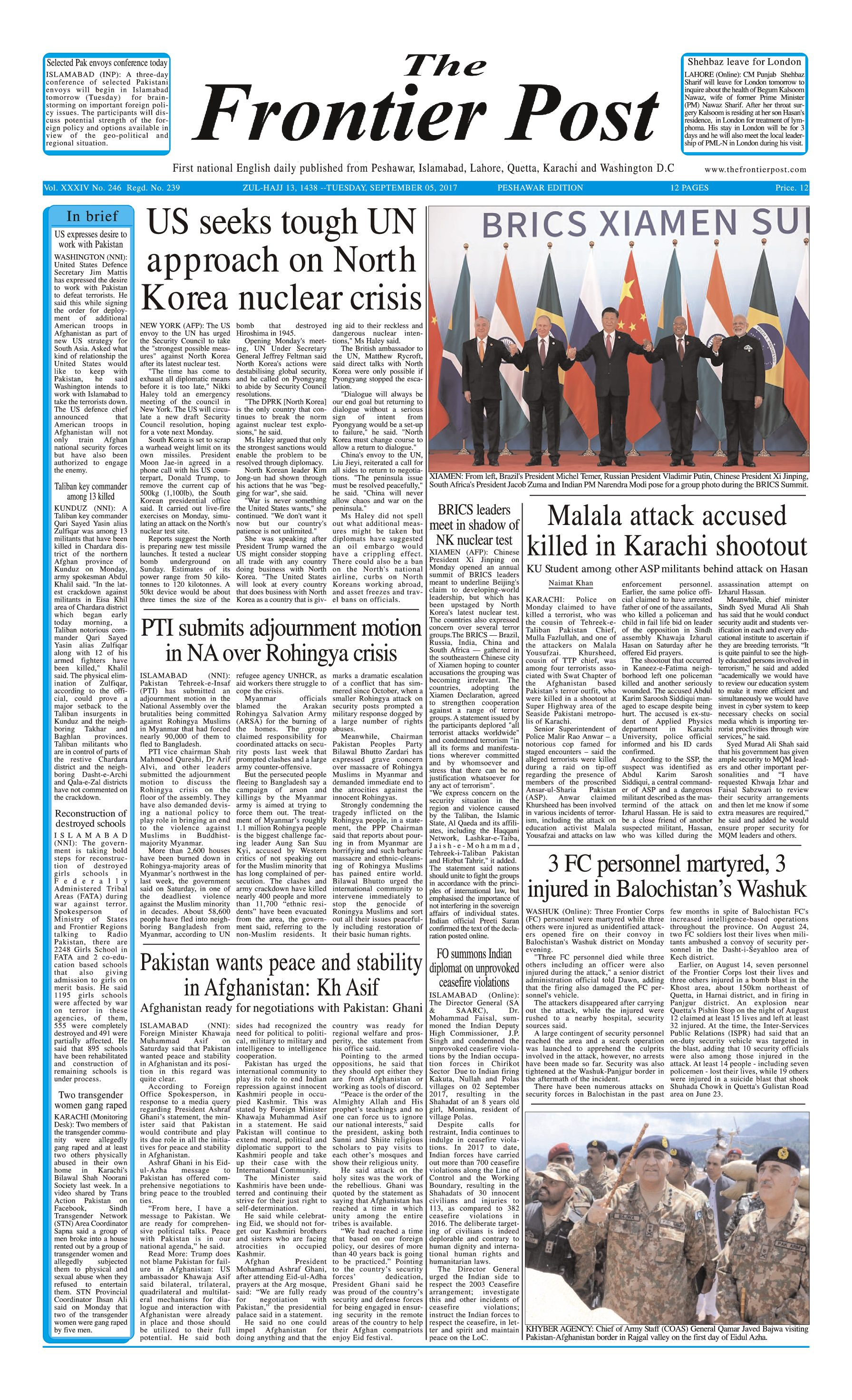 Front Page 5-09