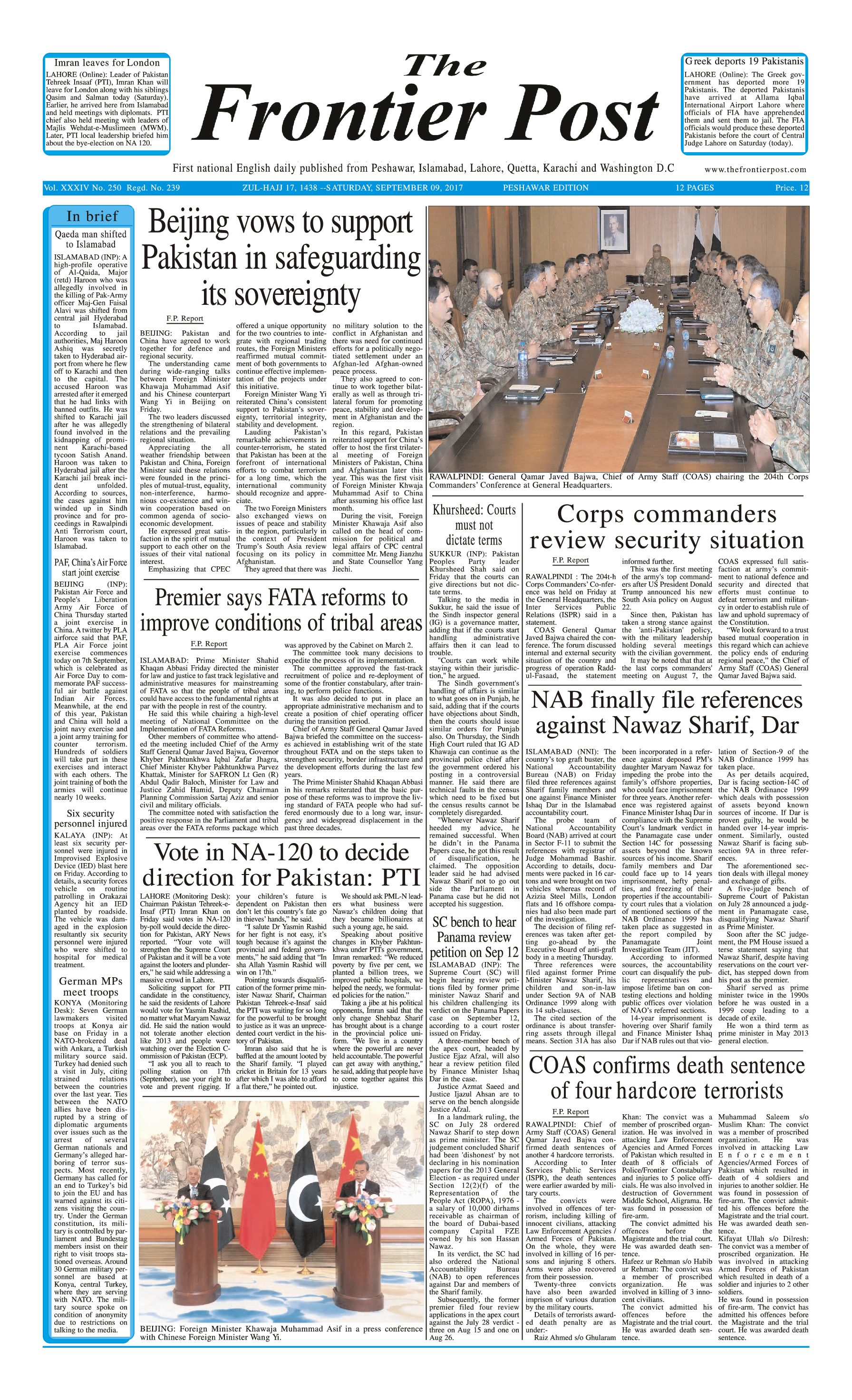 Front Page 9-09