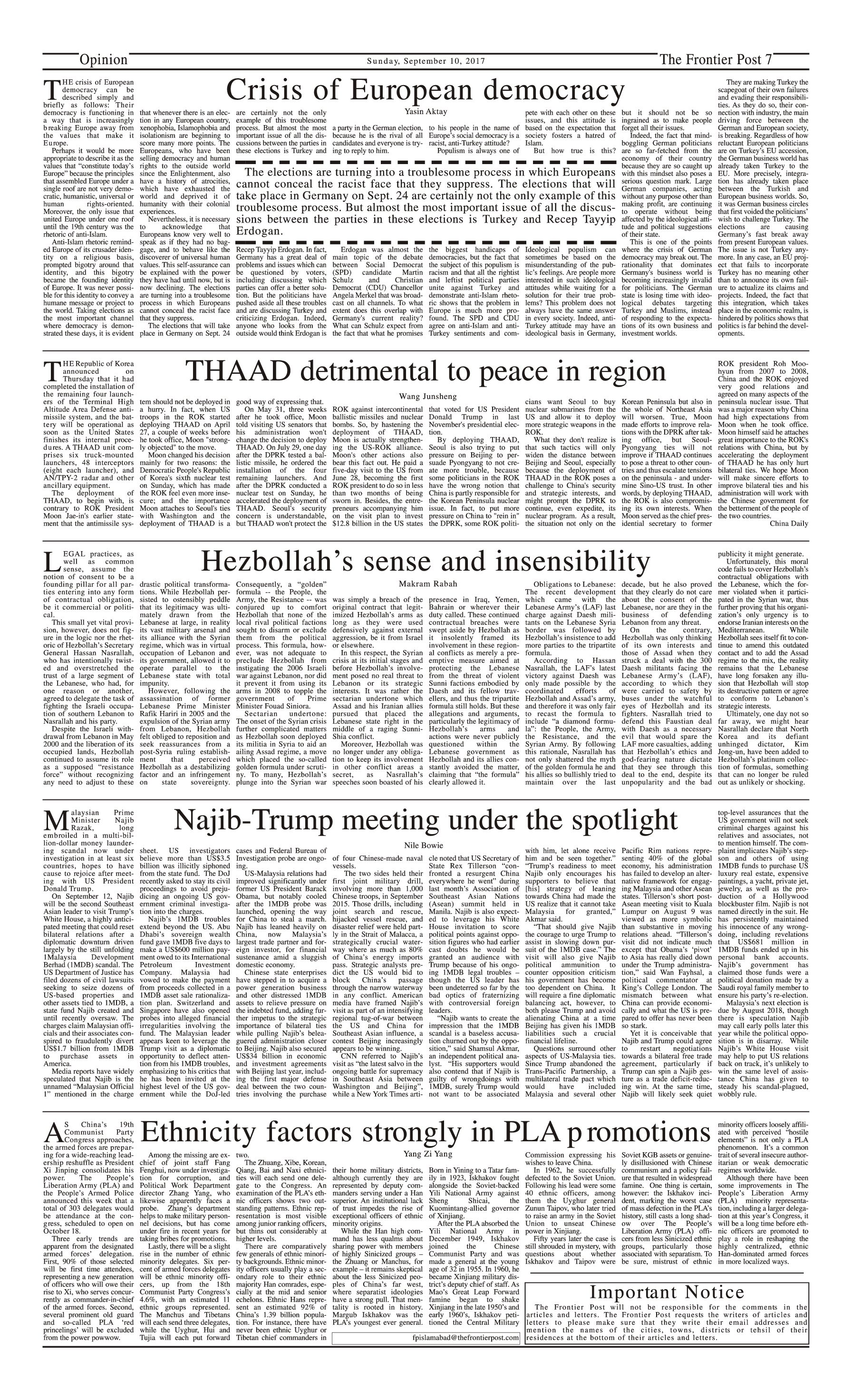 Opinion Page 10-09