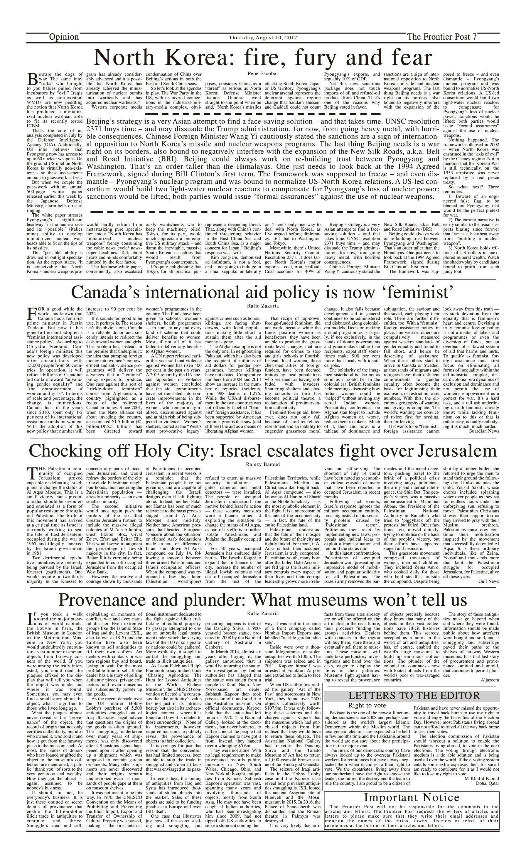 Opinion Page 10