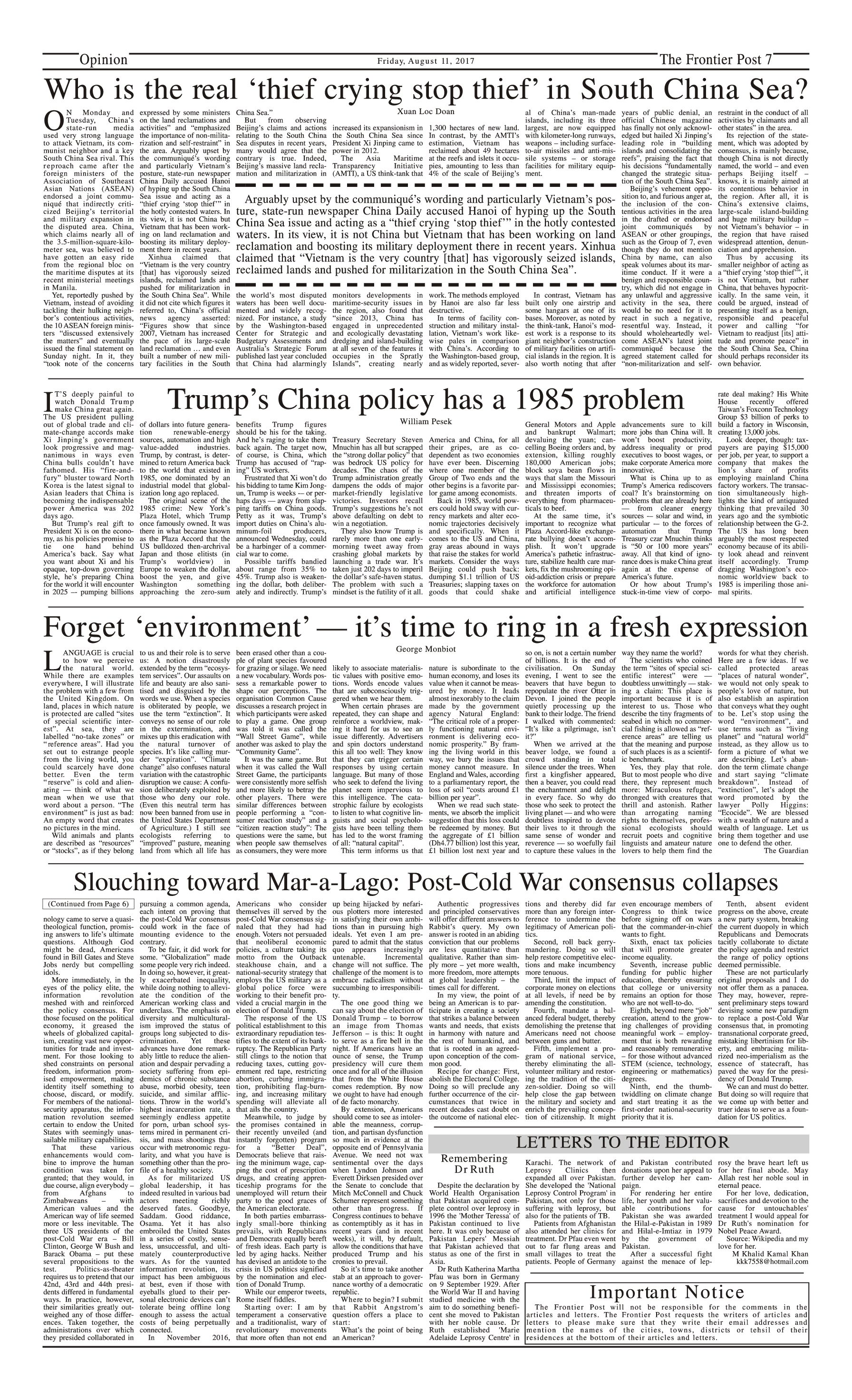 Opinion Page 11