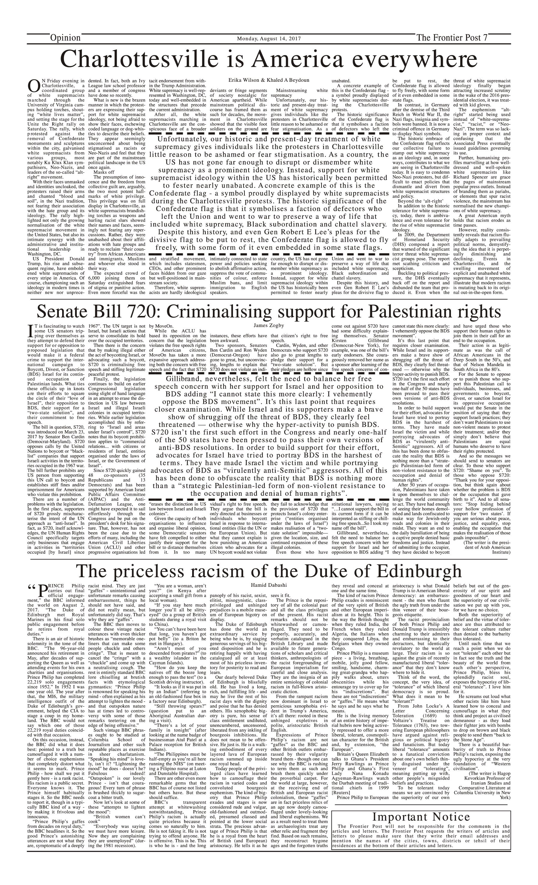 Opinion Page 14