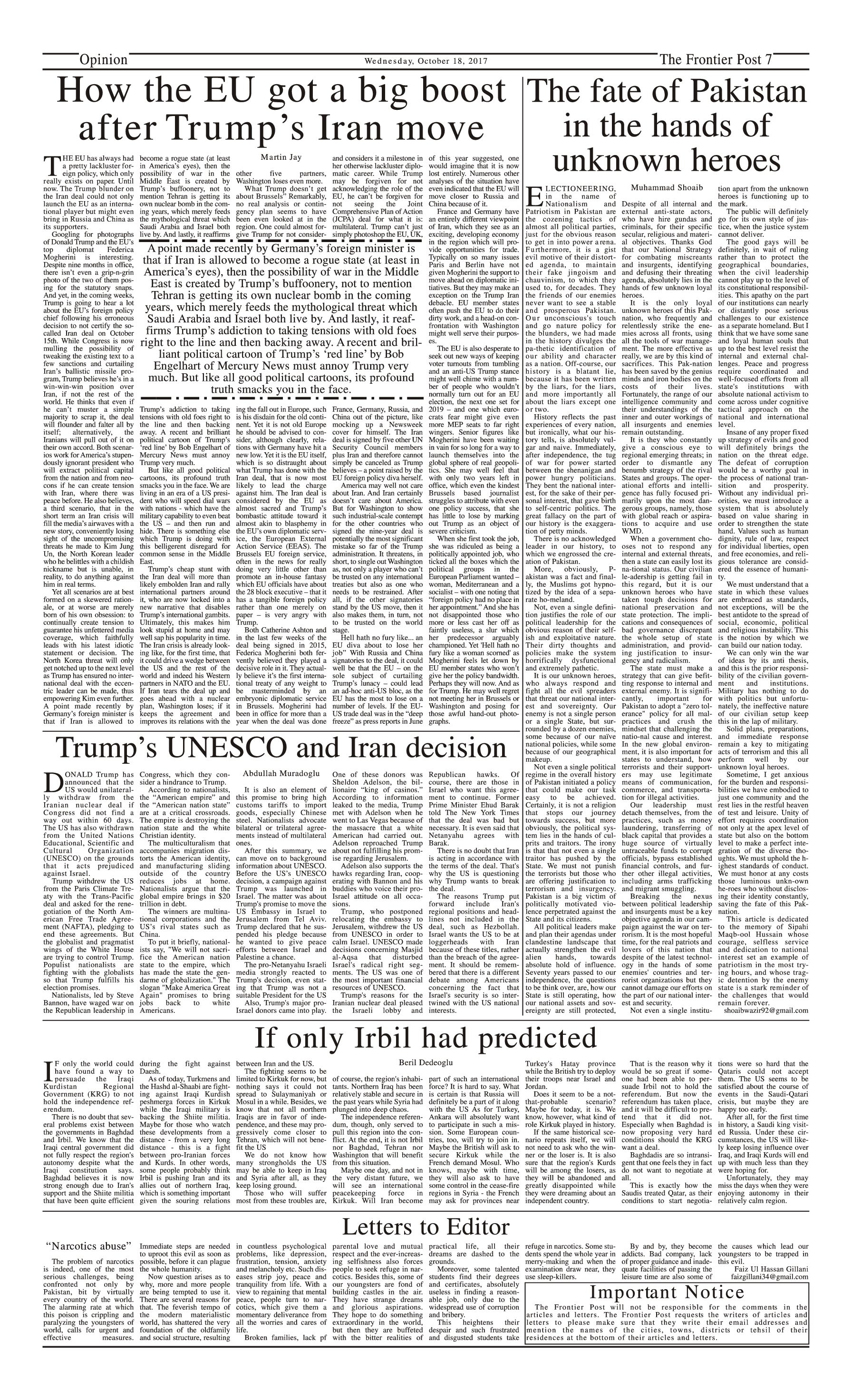 Opinion Page 18-10