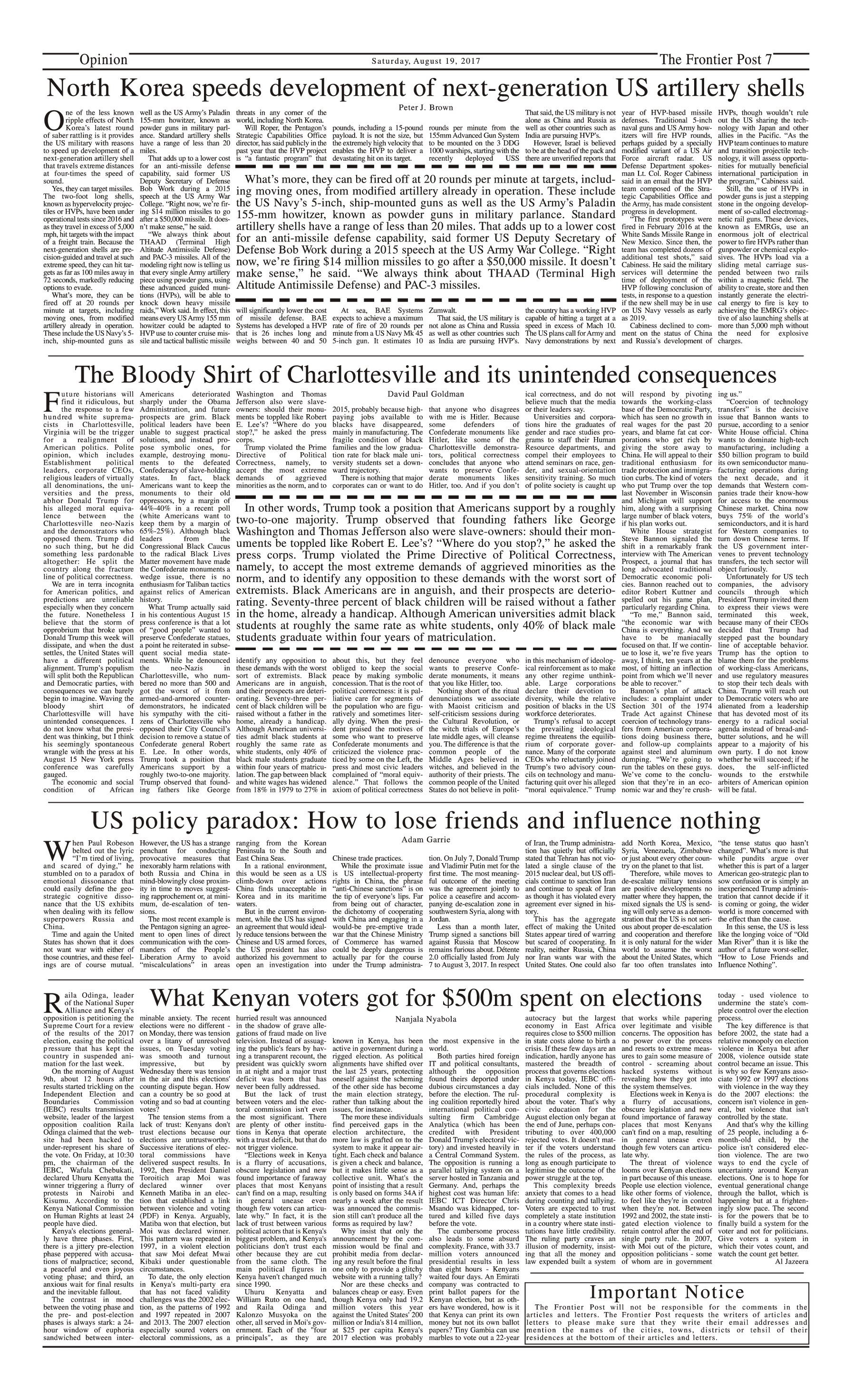 Opinion Page 19