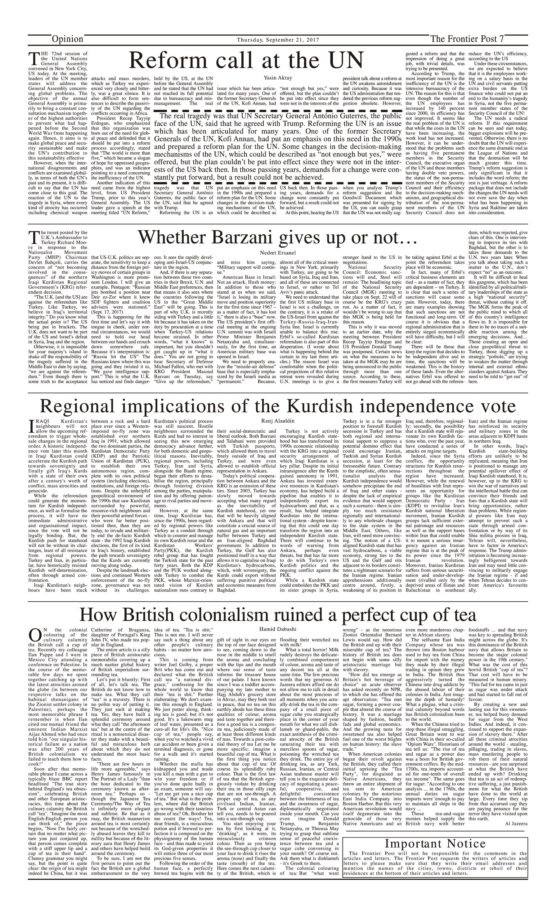 Opinion Page 21-09