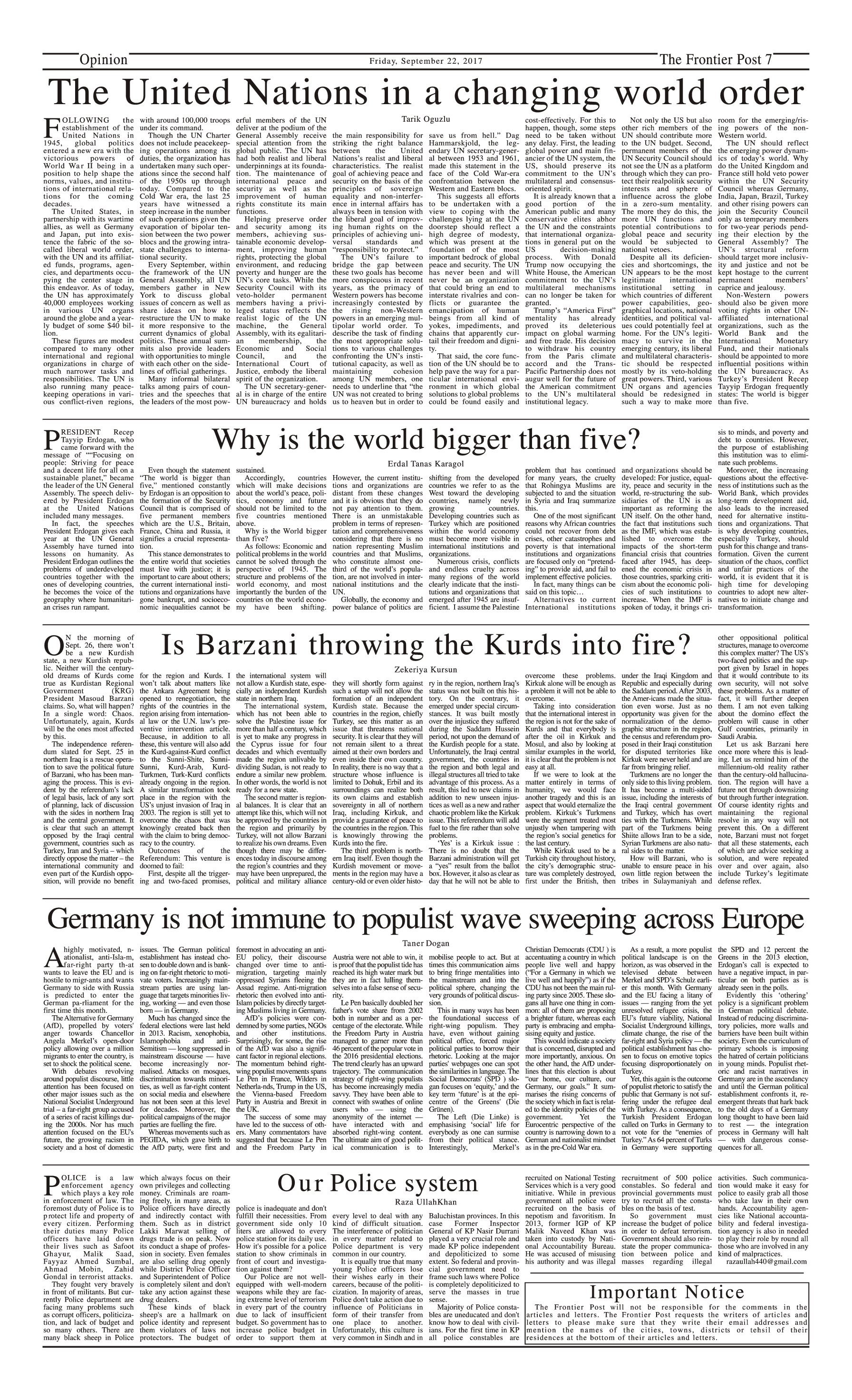 Opinion Page 22-09
