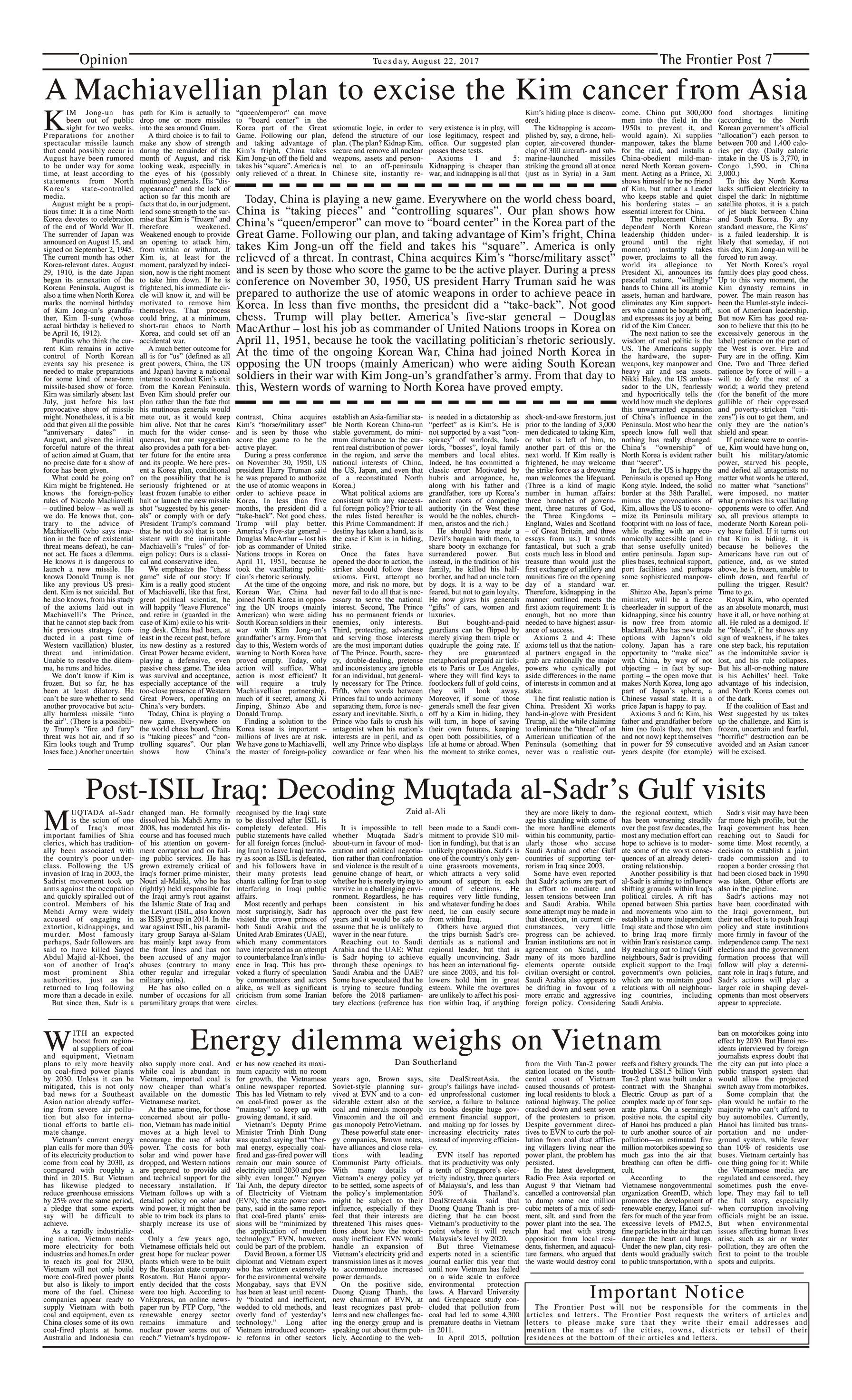 Opinion Page 22