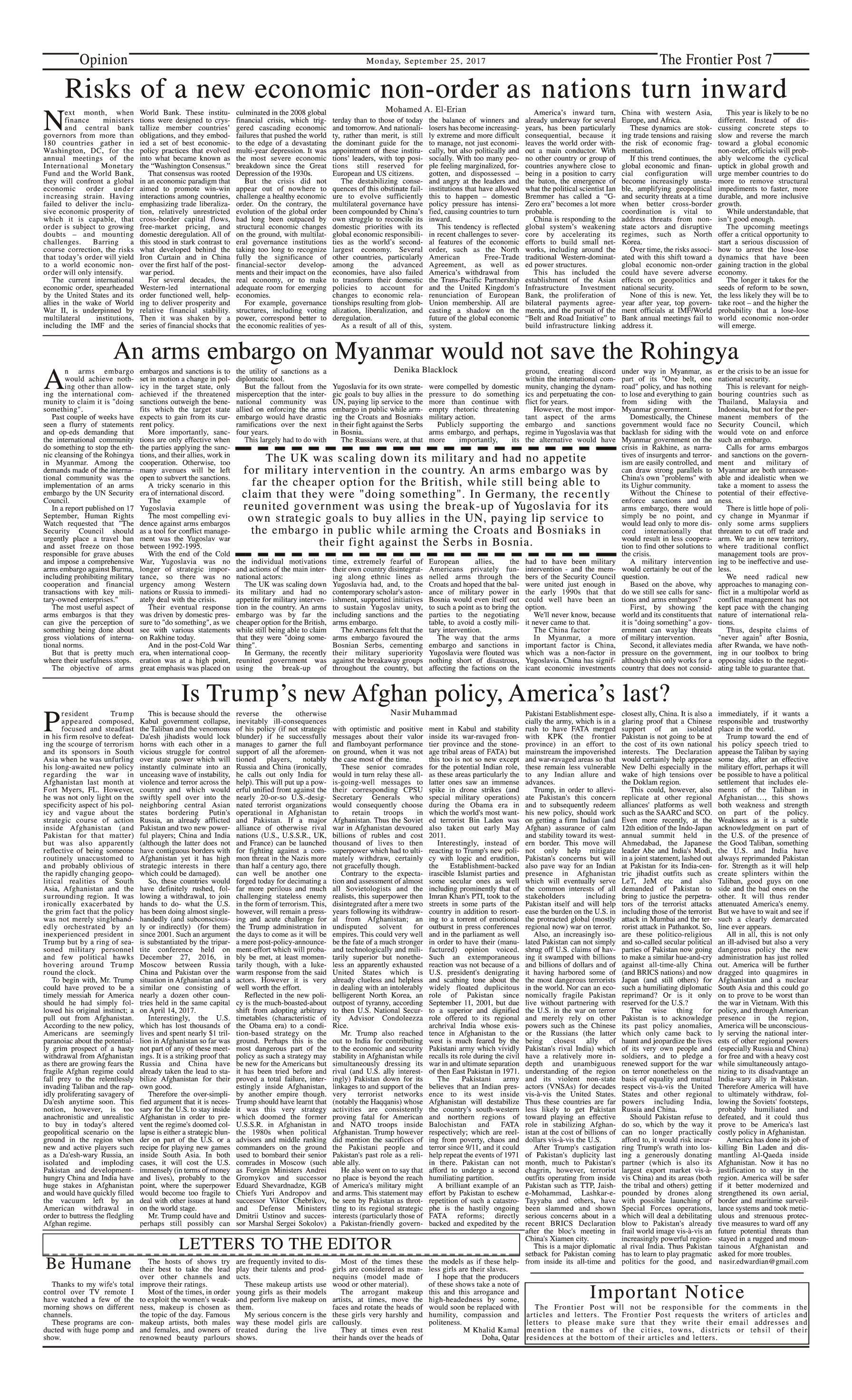 Opinion Page 25-09