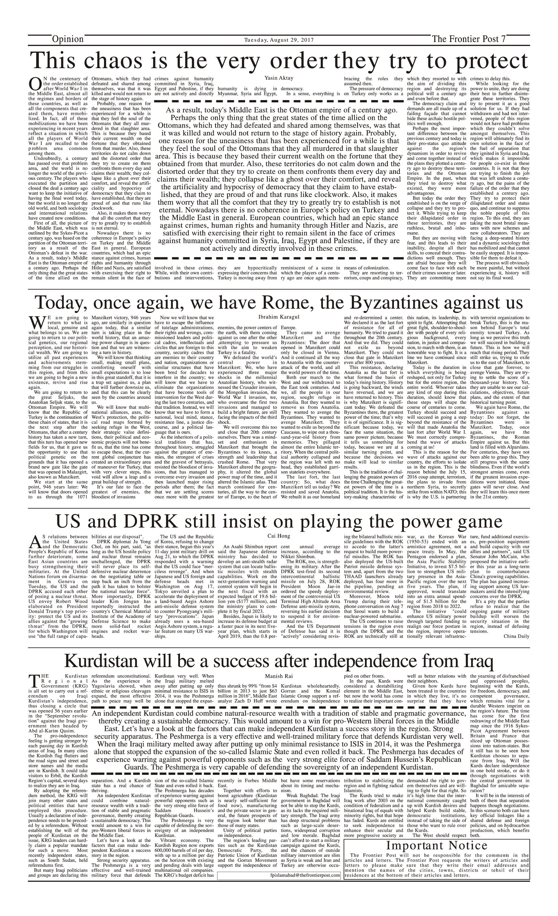 Opinion Page 29