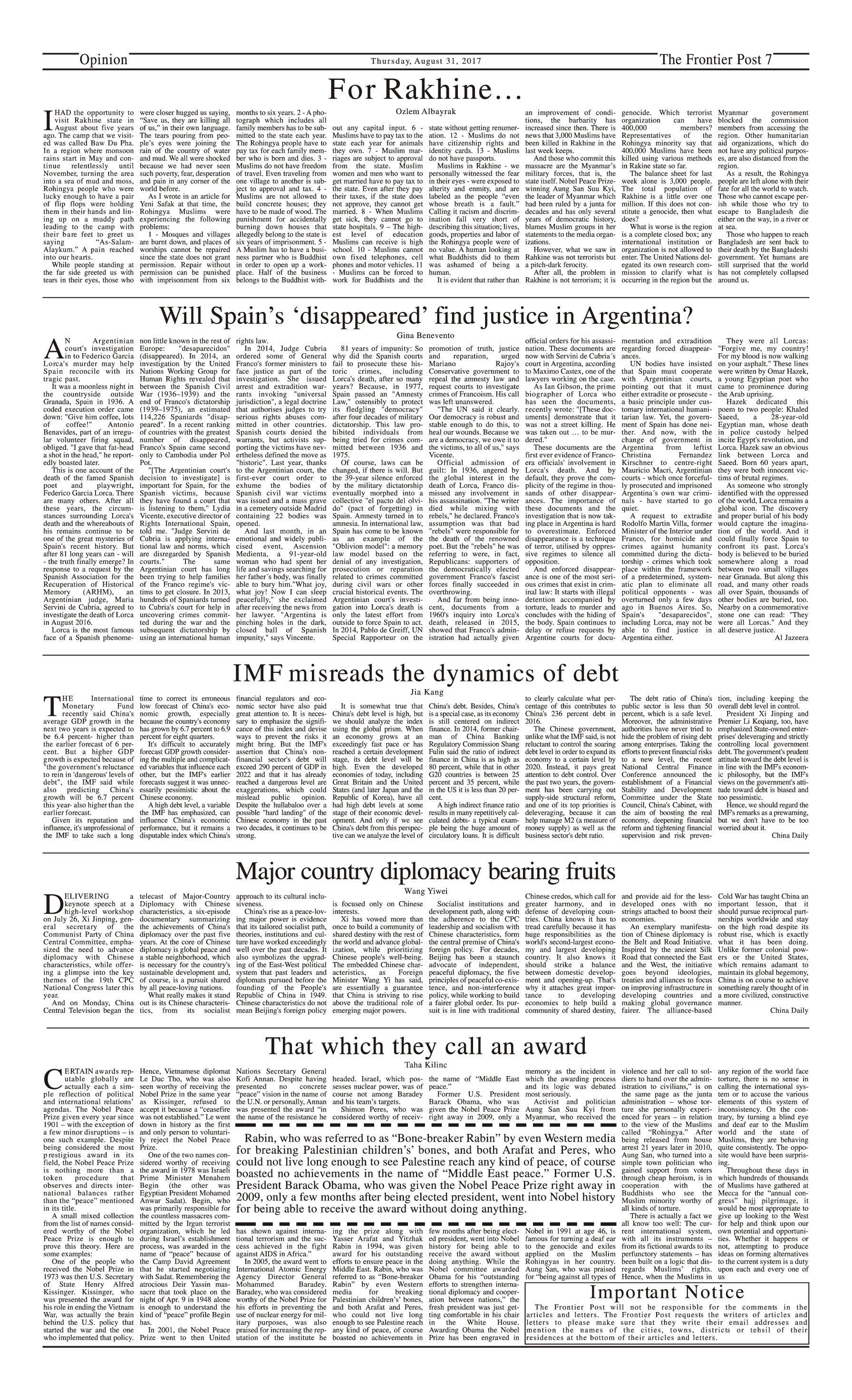 Opinion Page 31