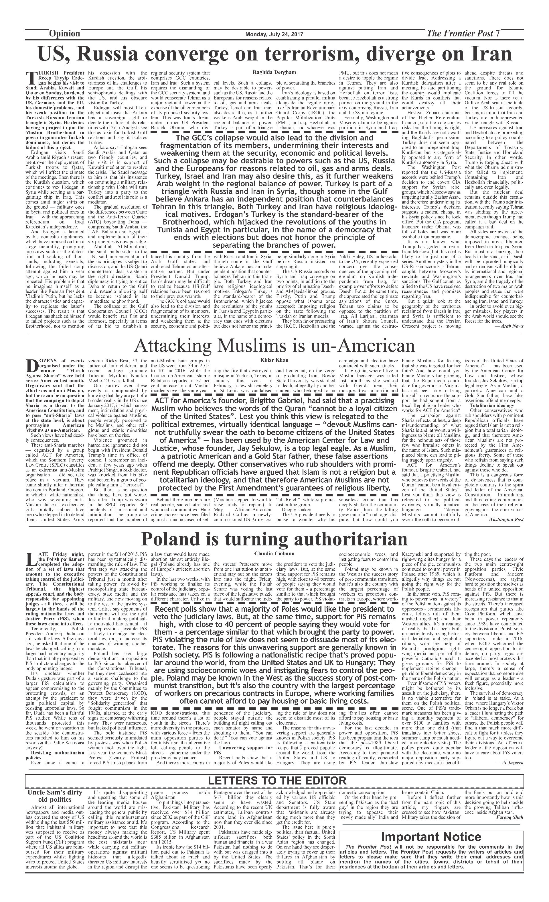 Opinion Page