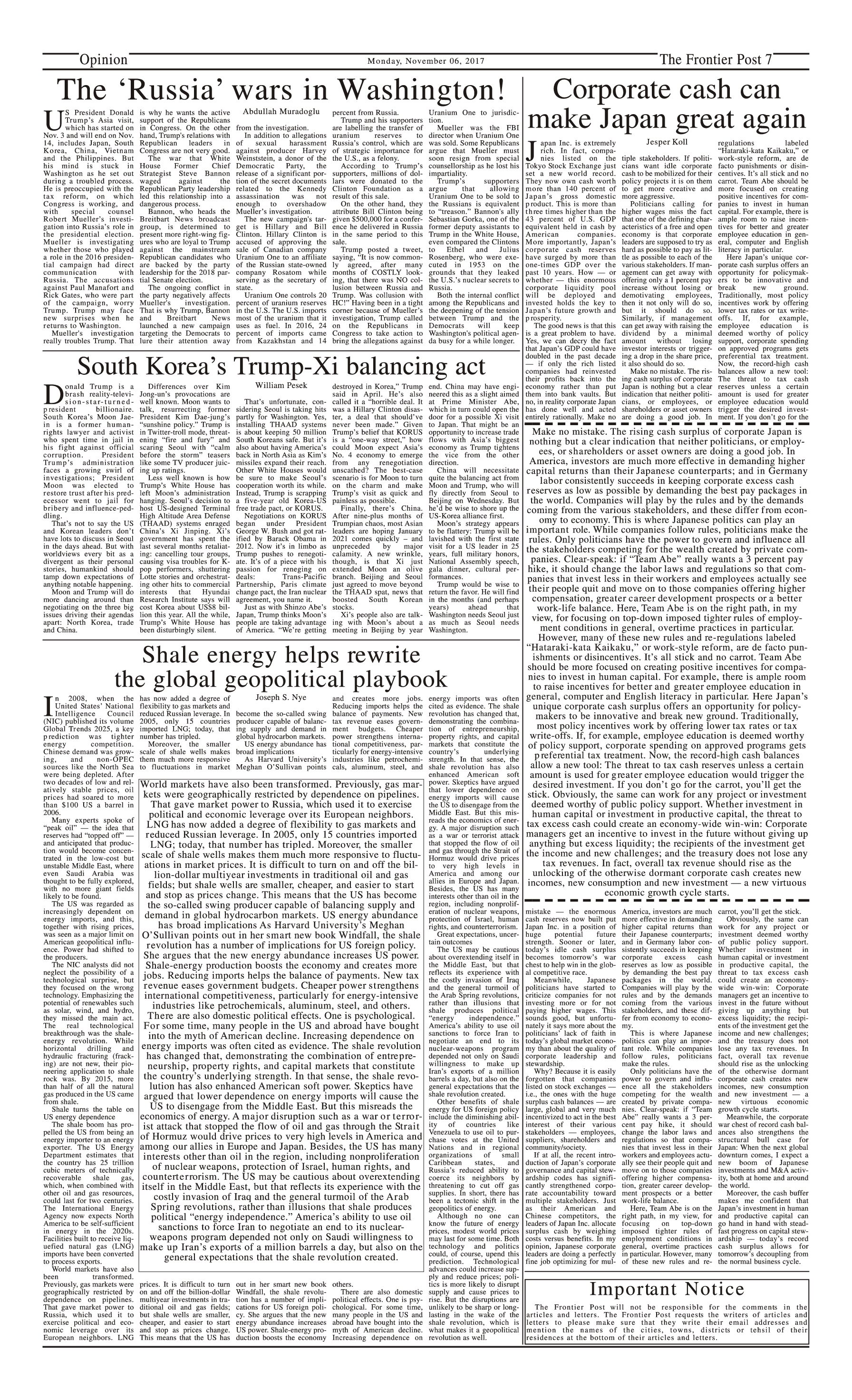 Opinion Page 6-11