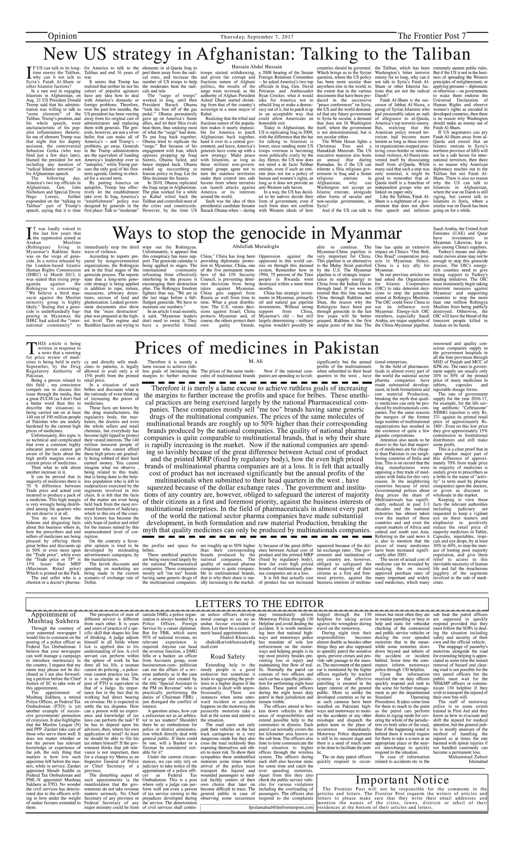 Opinion Page 7-09