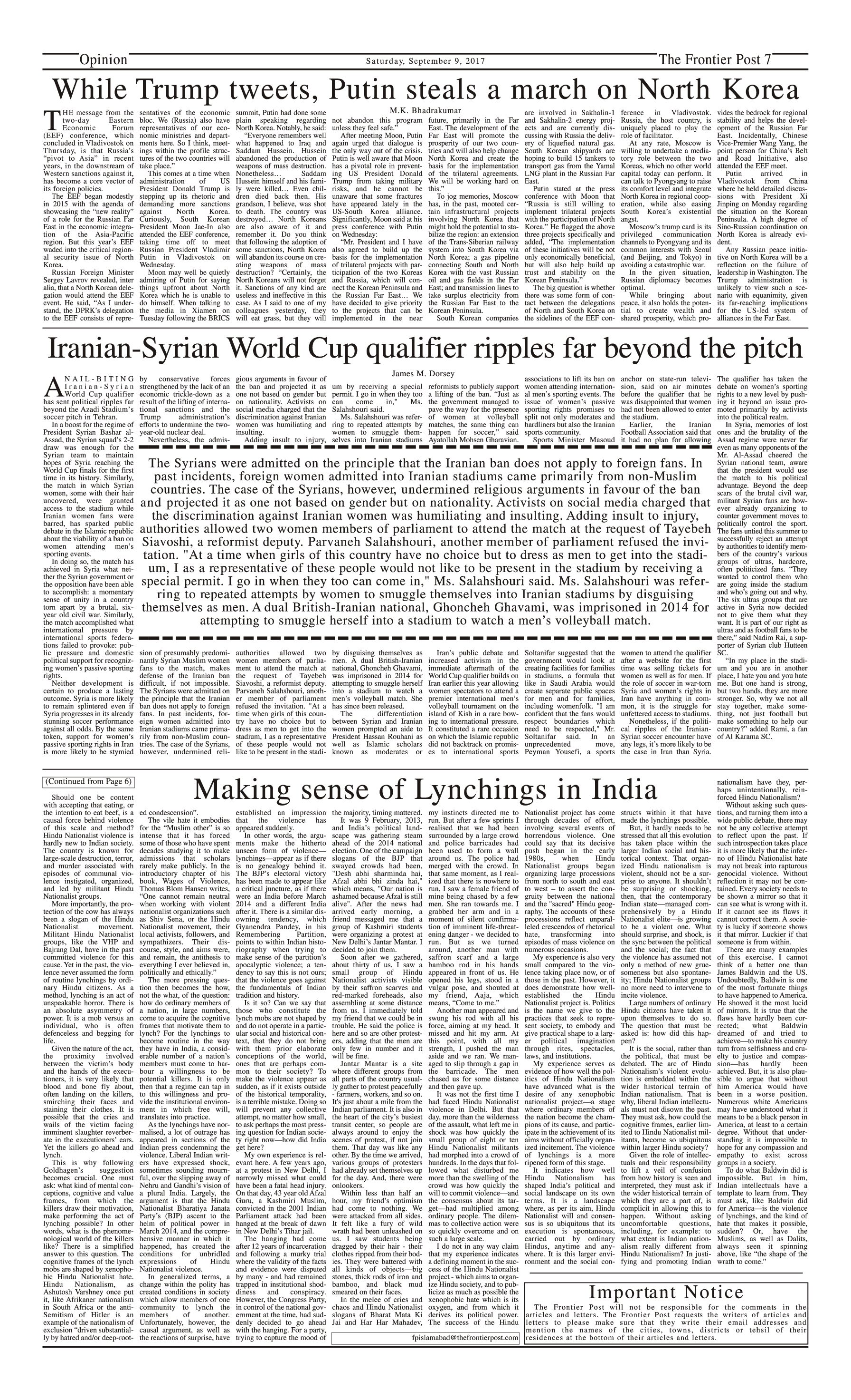 Opinion Page 9-09