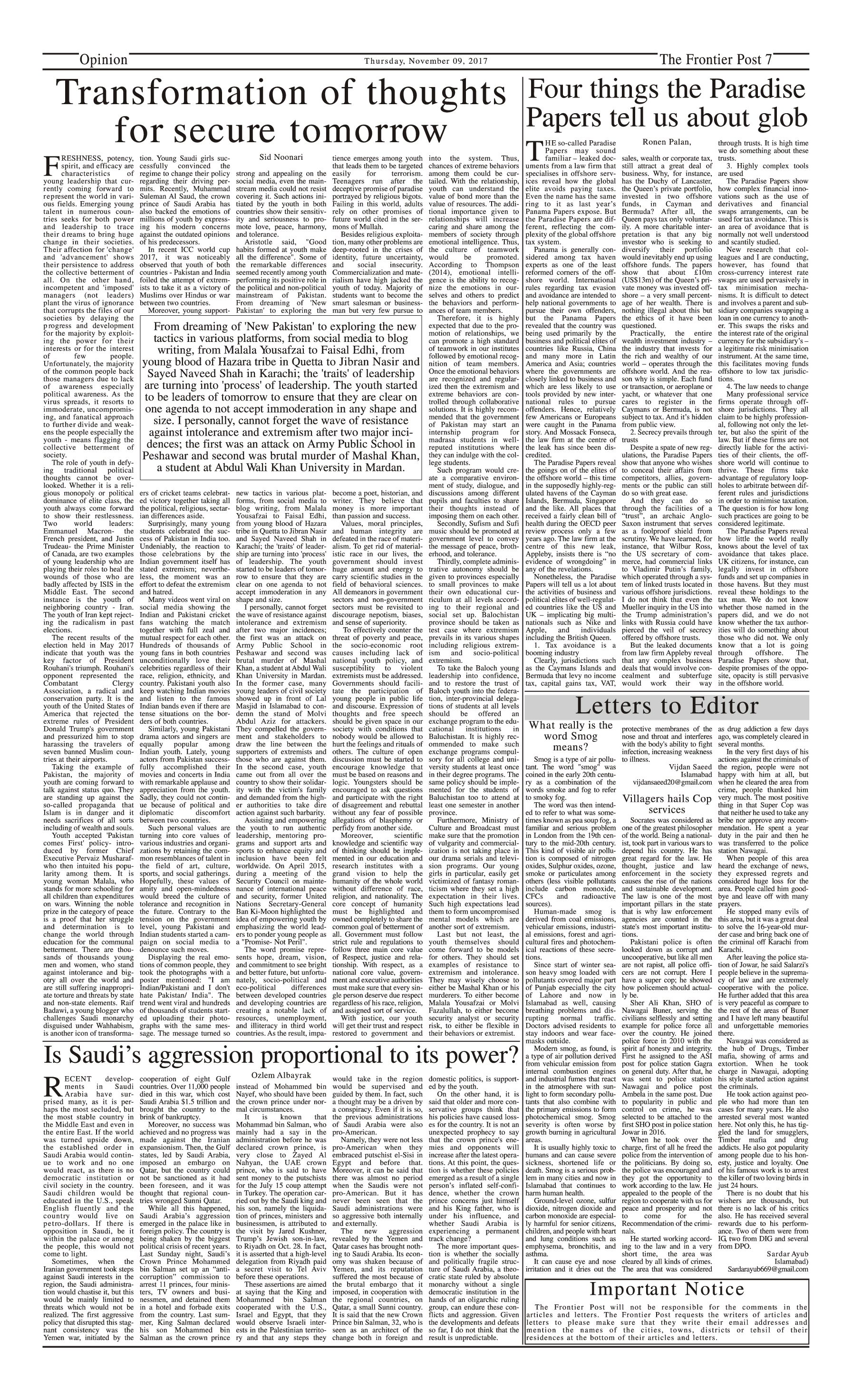 Opinion Page 9-11