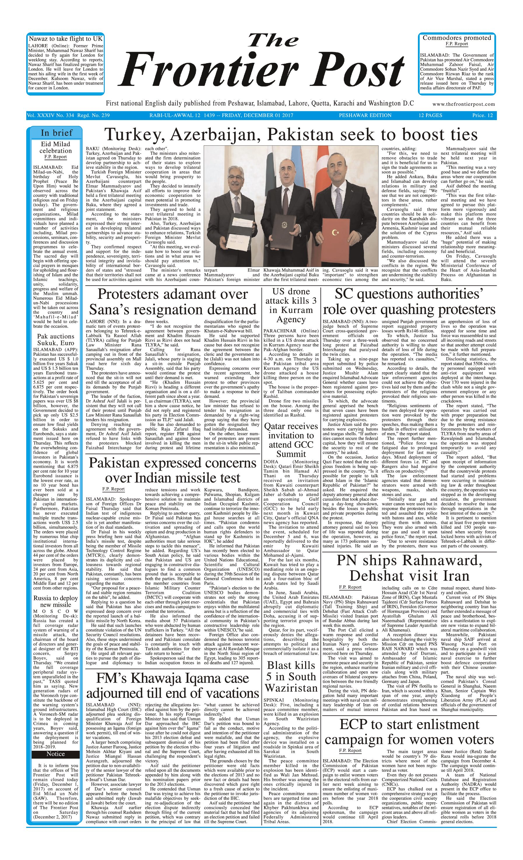 Front Page 1-12