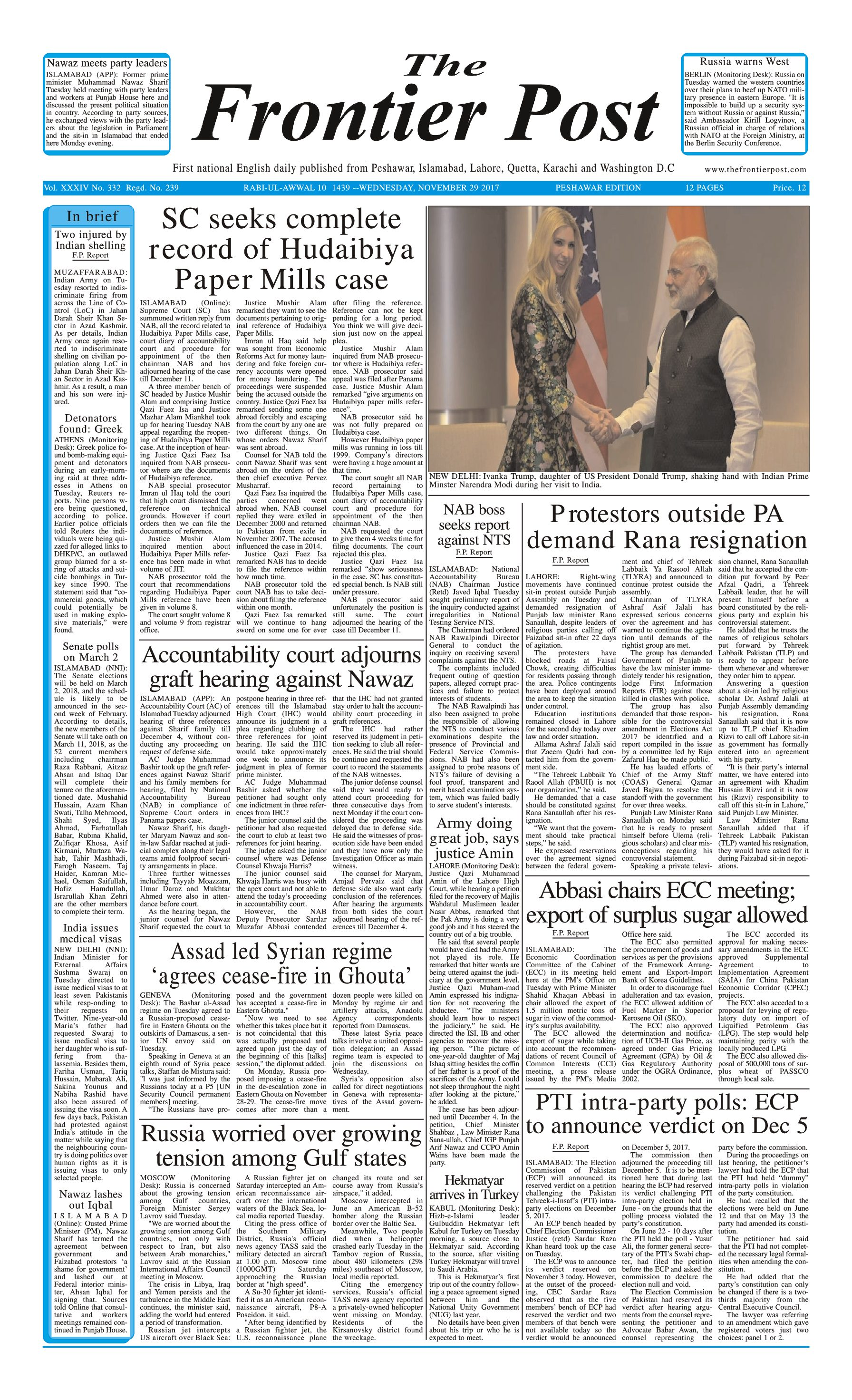 Front Page 29-11