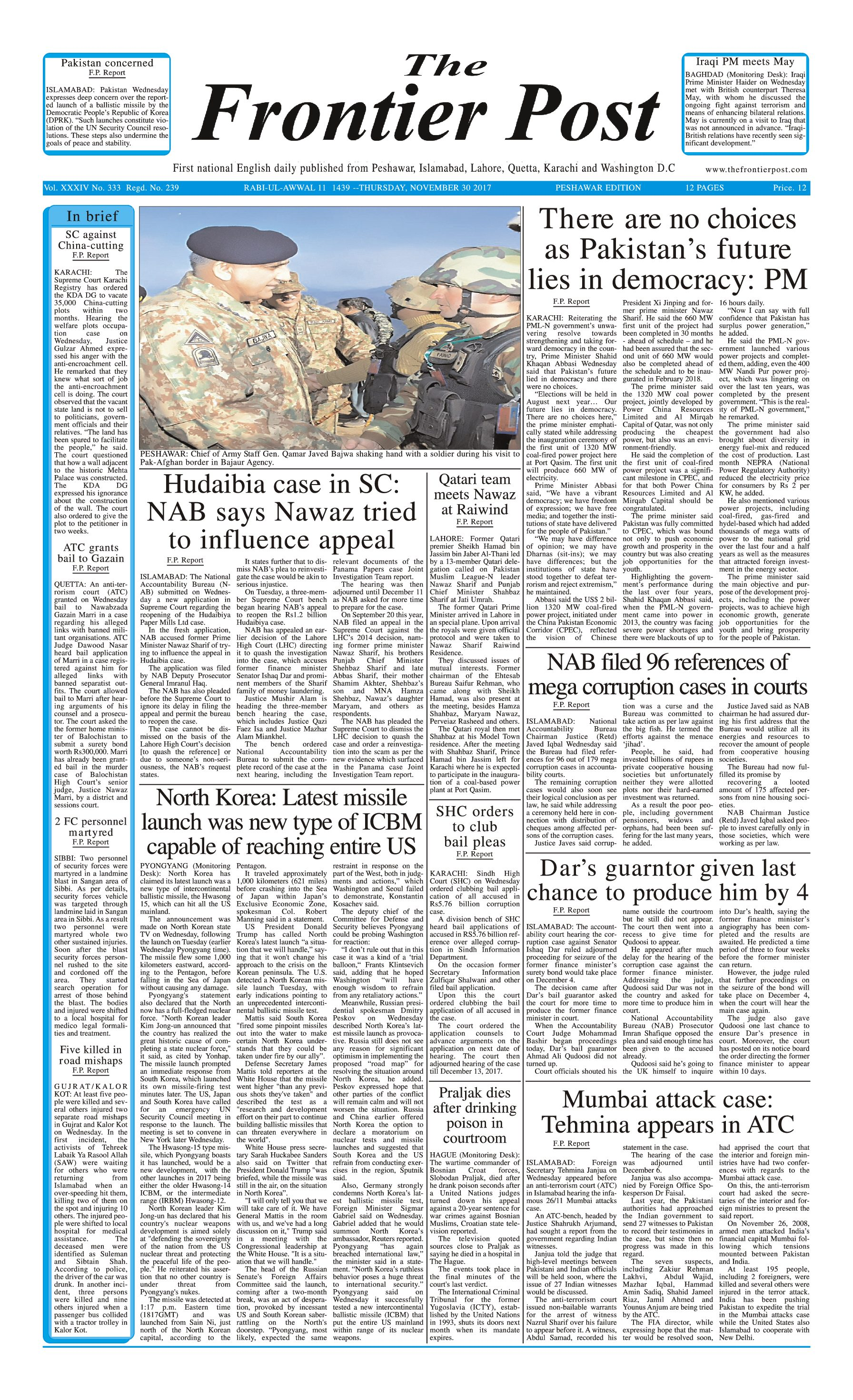 Front Page 30-11