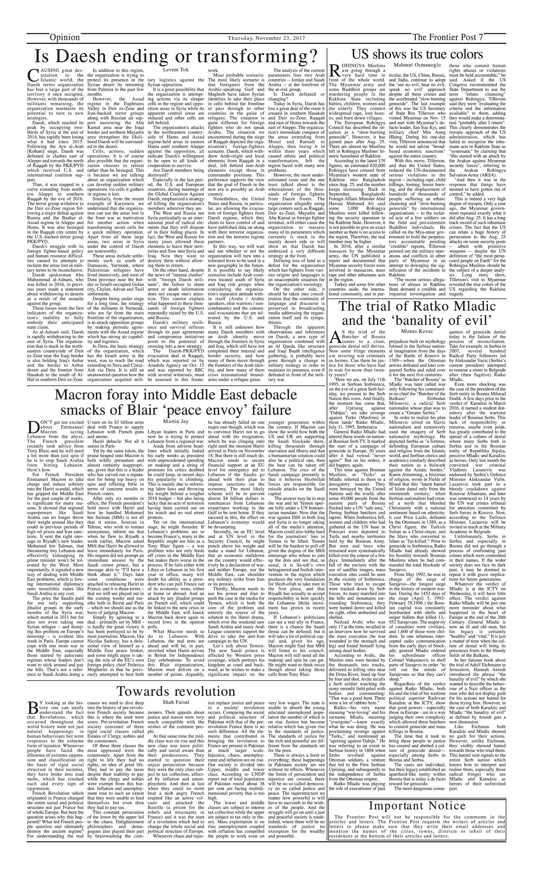 Opinion Page 23-11