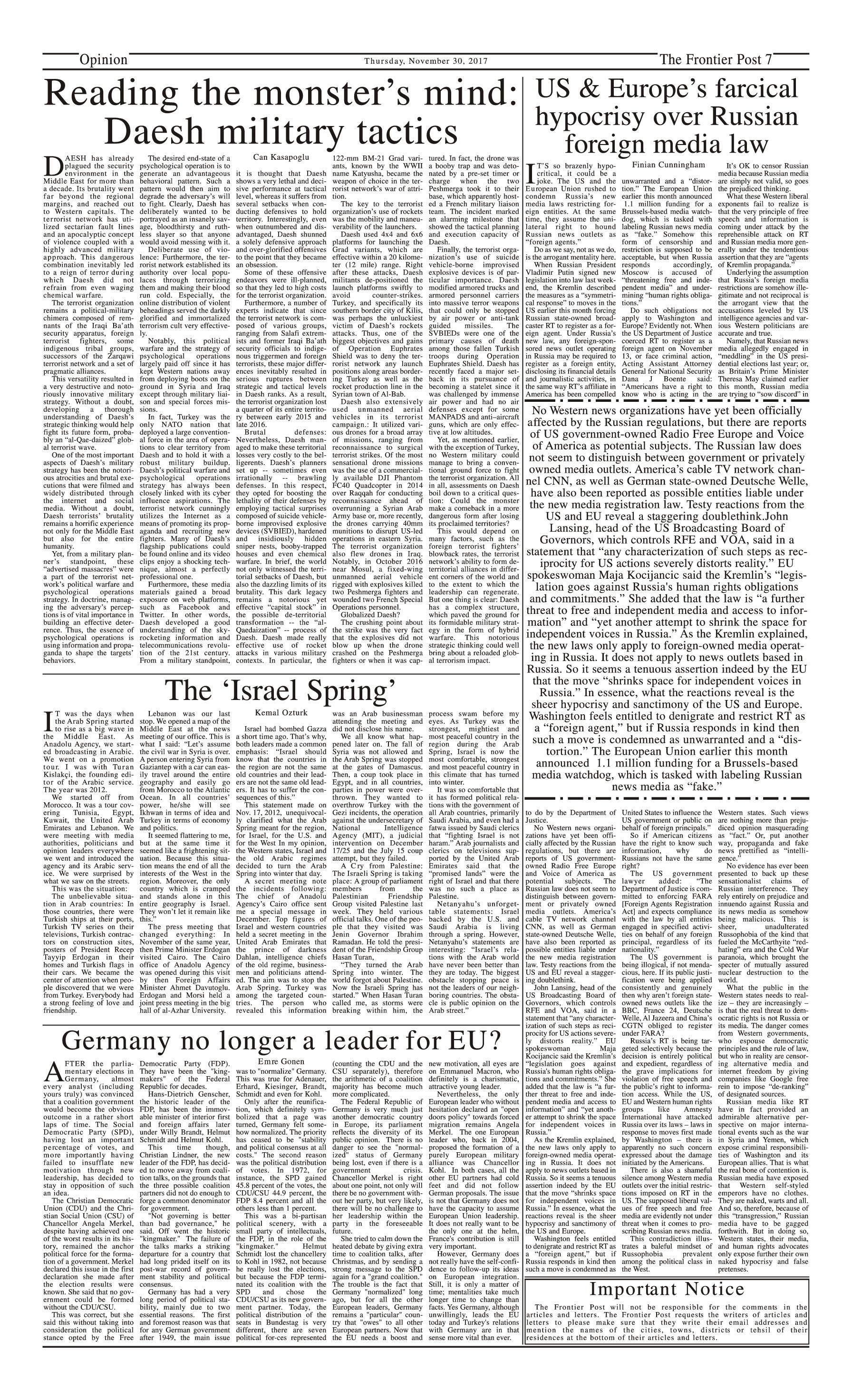 Opinion Page 30-11