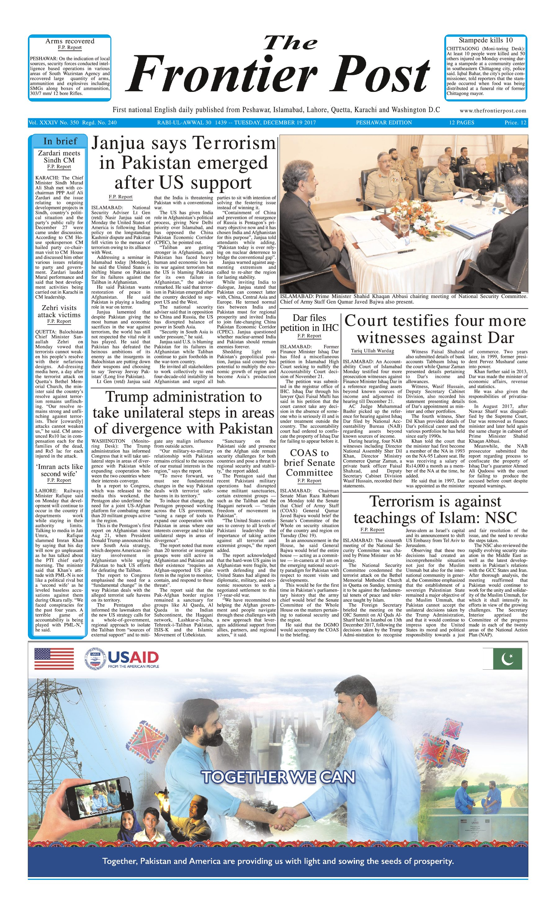 Front Page 19-12