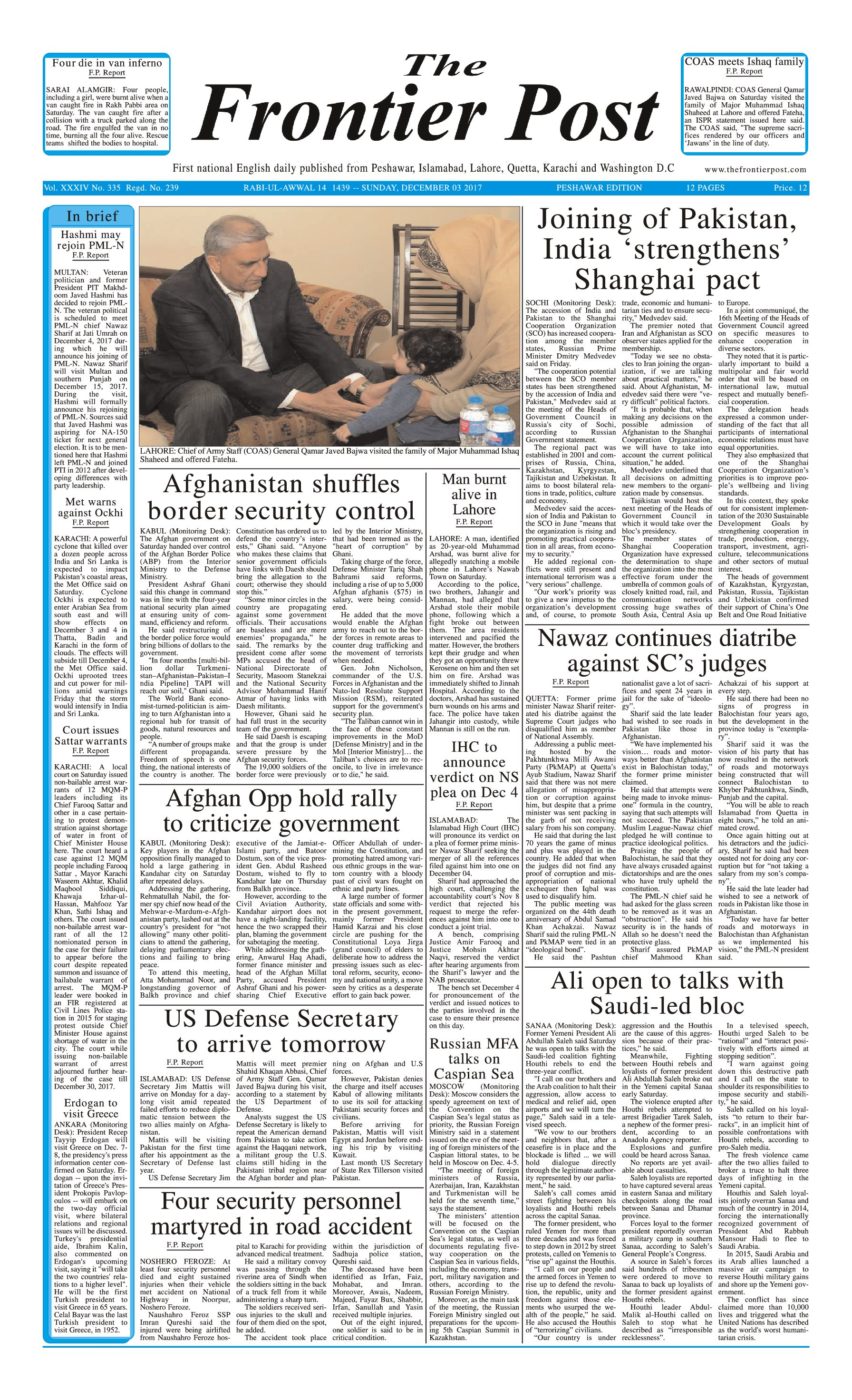 Front Page 3-12