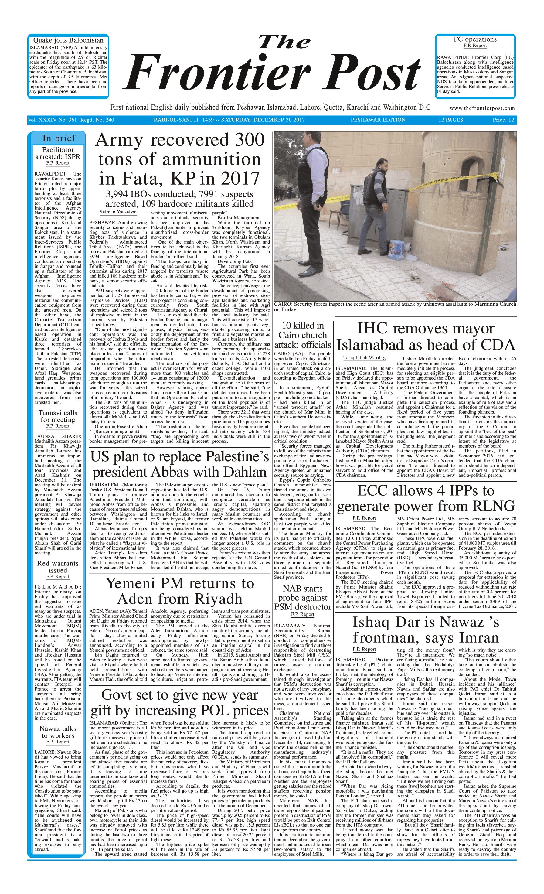 Front Page 30-12
