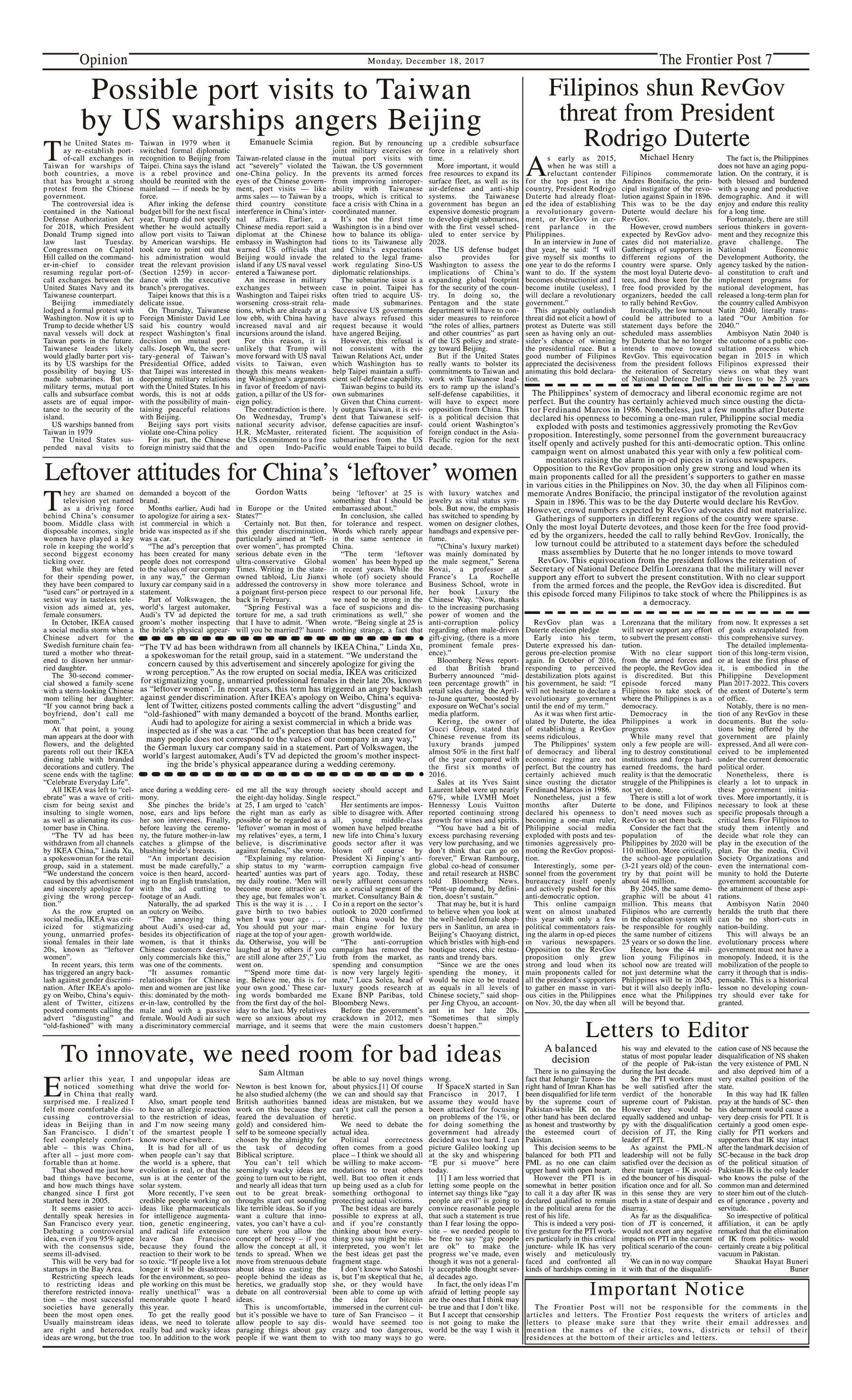 Opinion Page 18-12