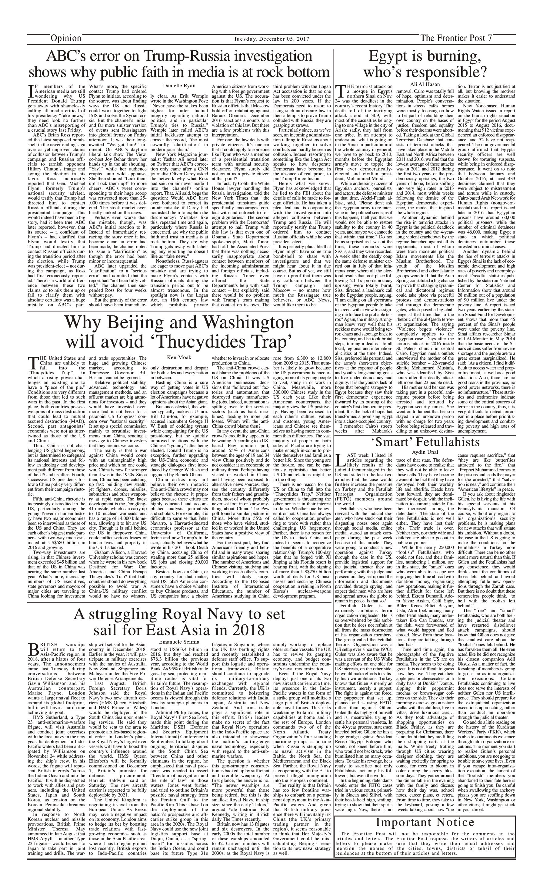Opinion Page 5-12