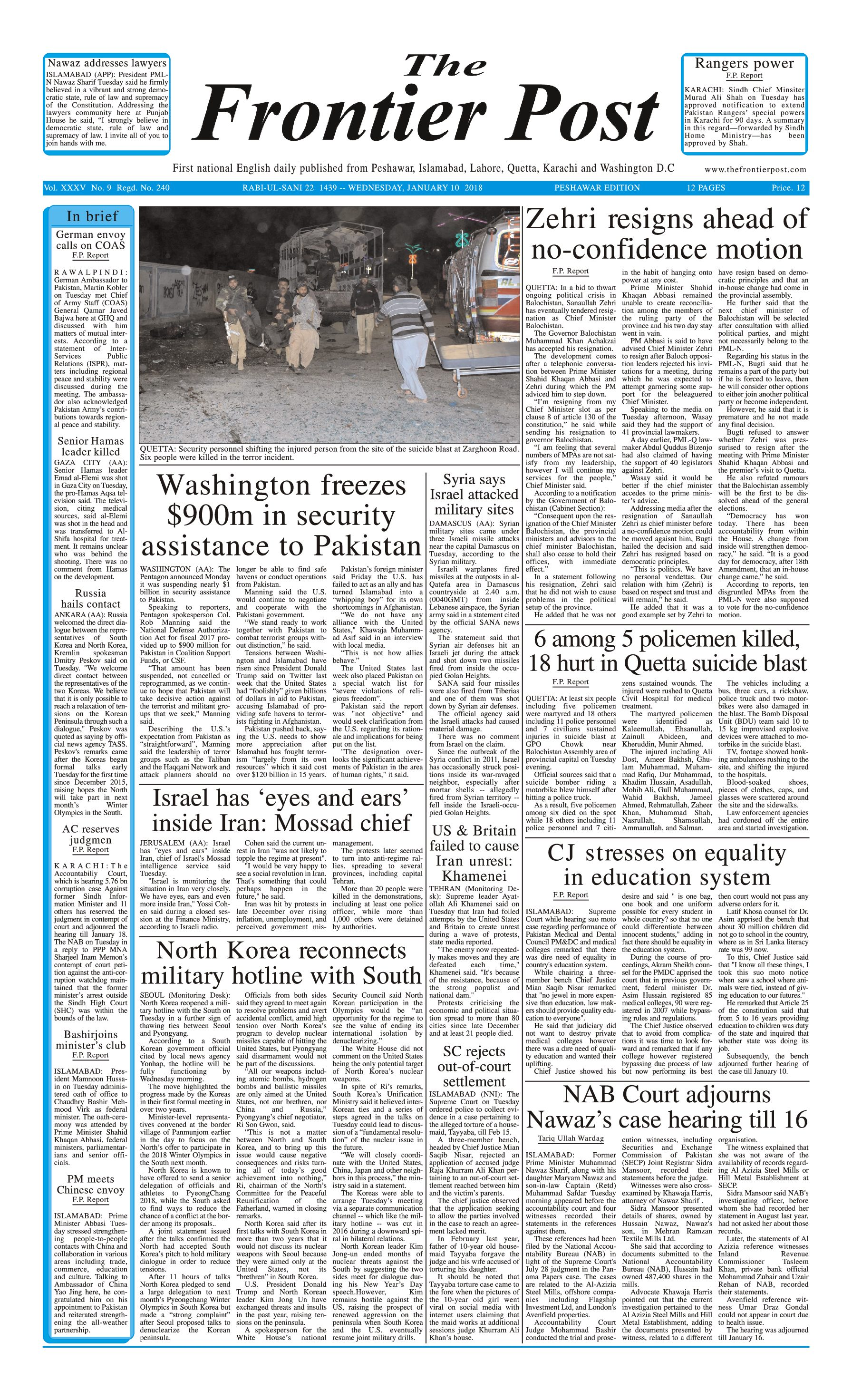 Front Page 10-1