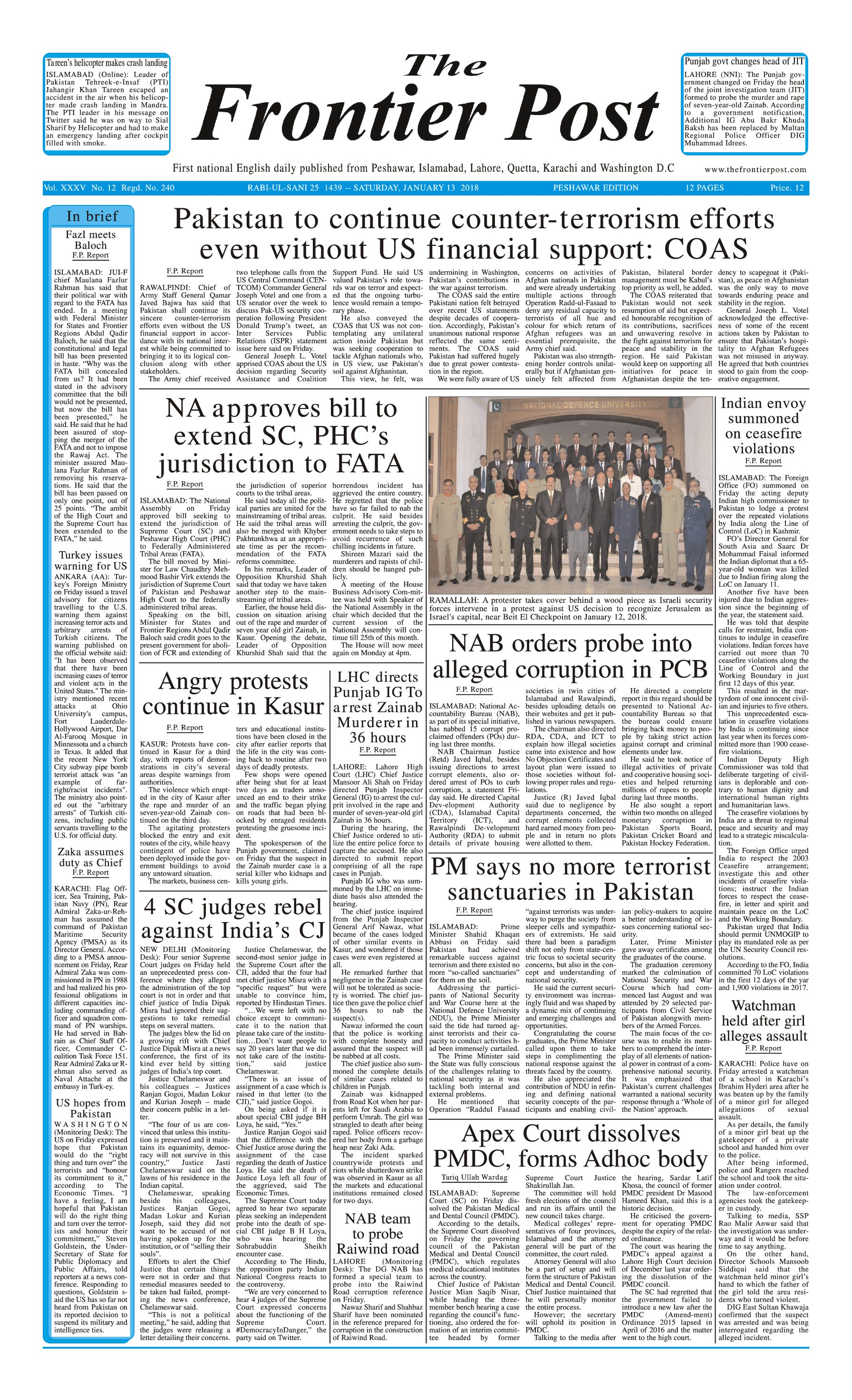 Front Page 13-1