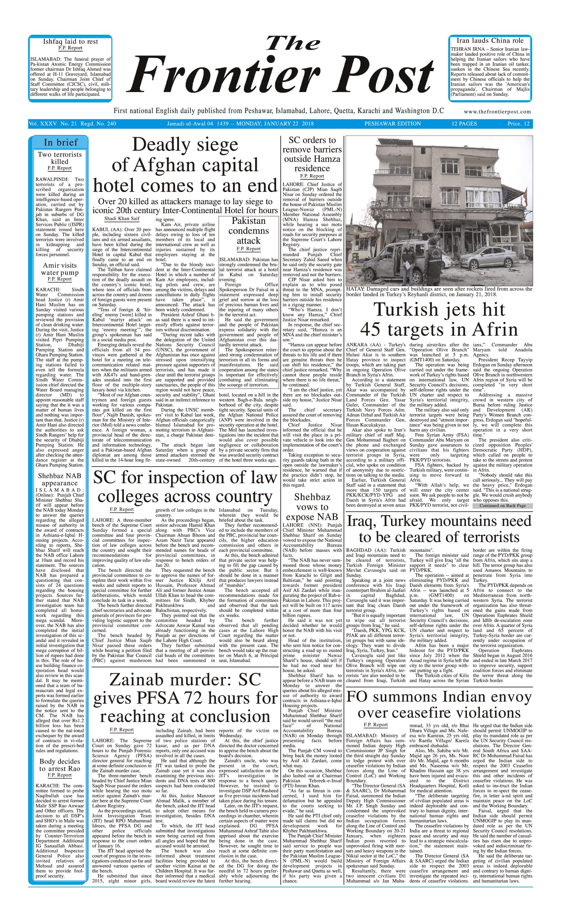 Front Page 22-1