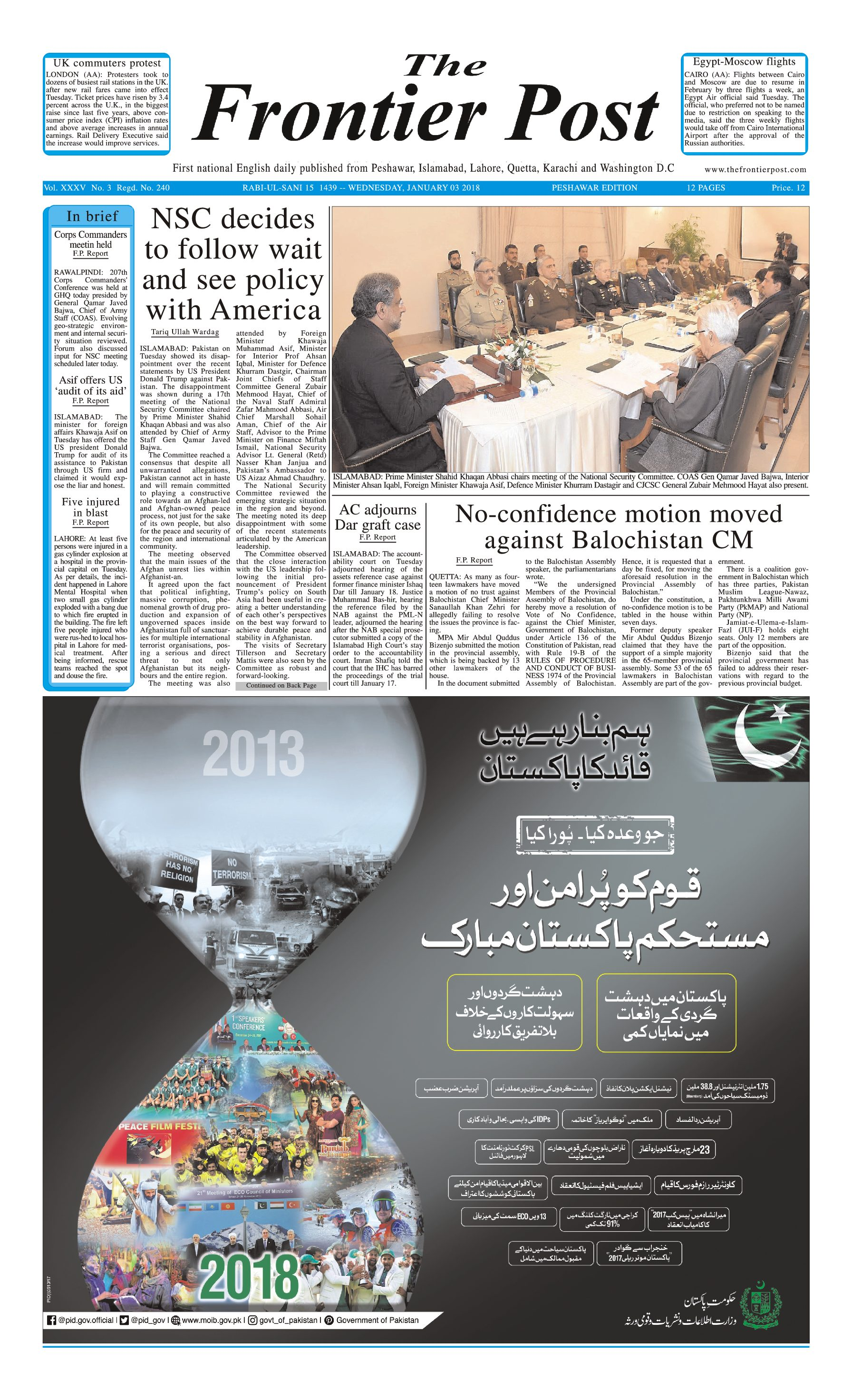 Front Page 3-1