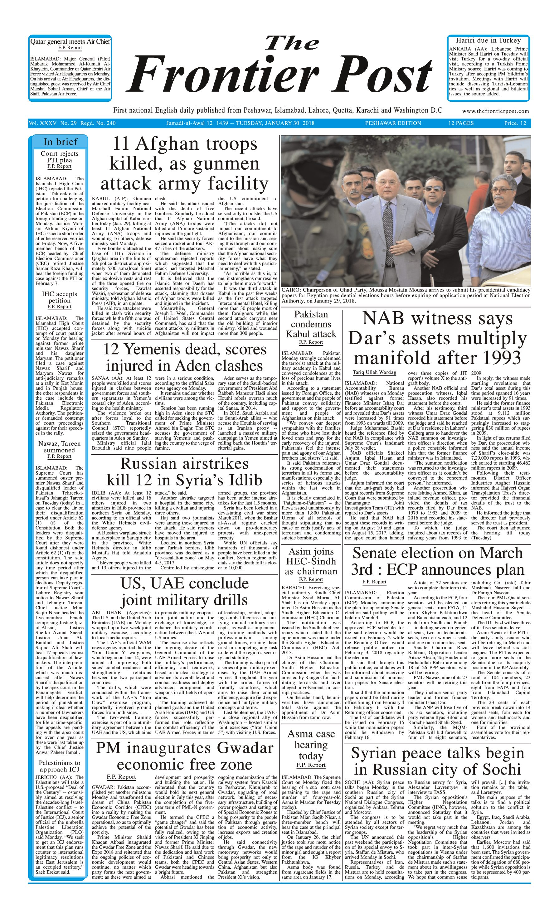 Front Page 30-1